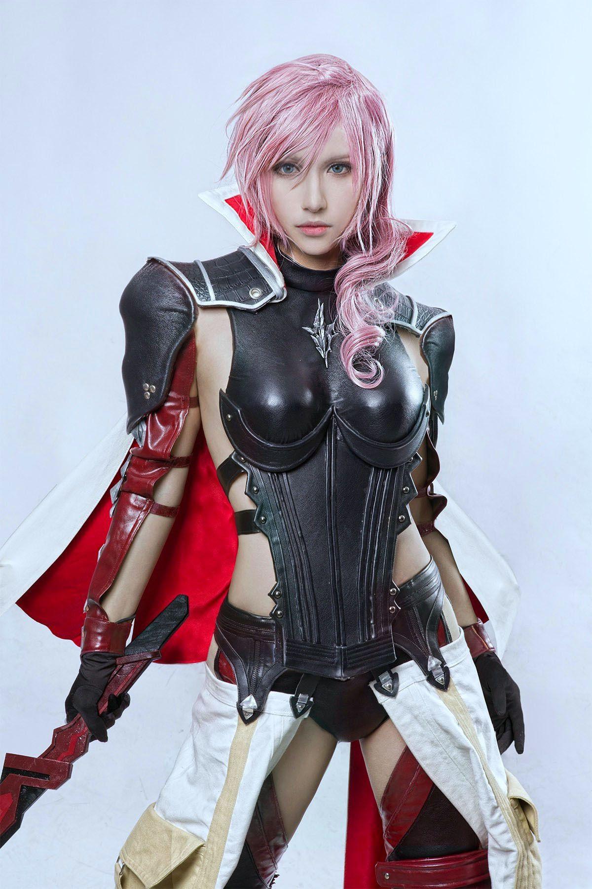 Final fantasy cosplayer photo