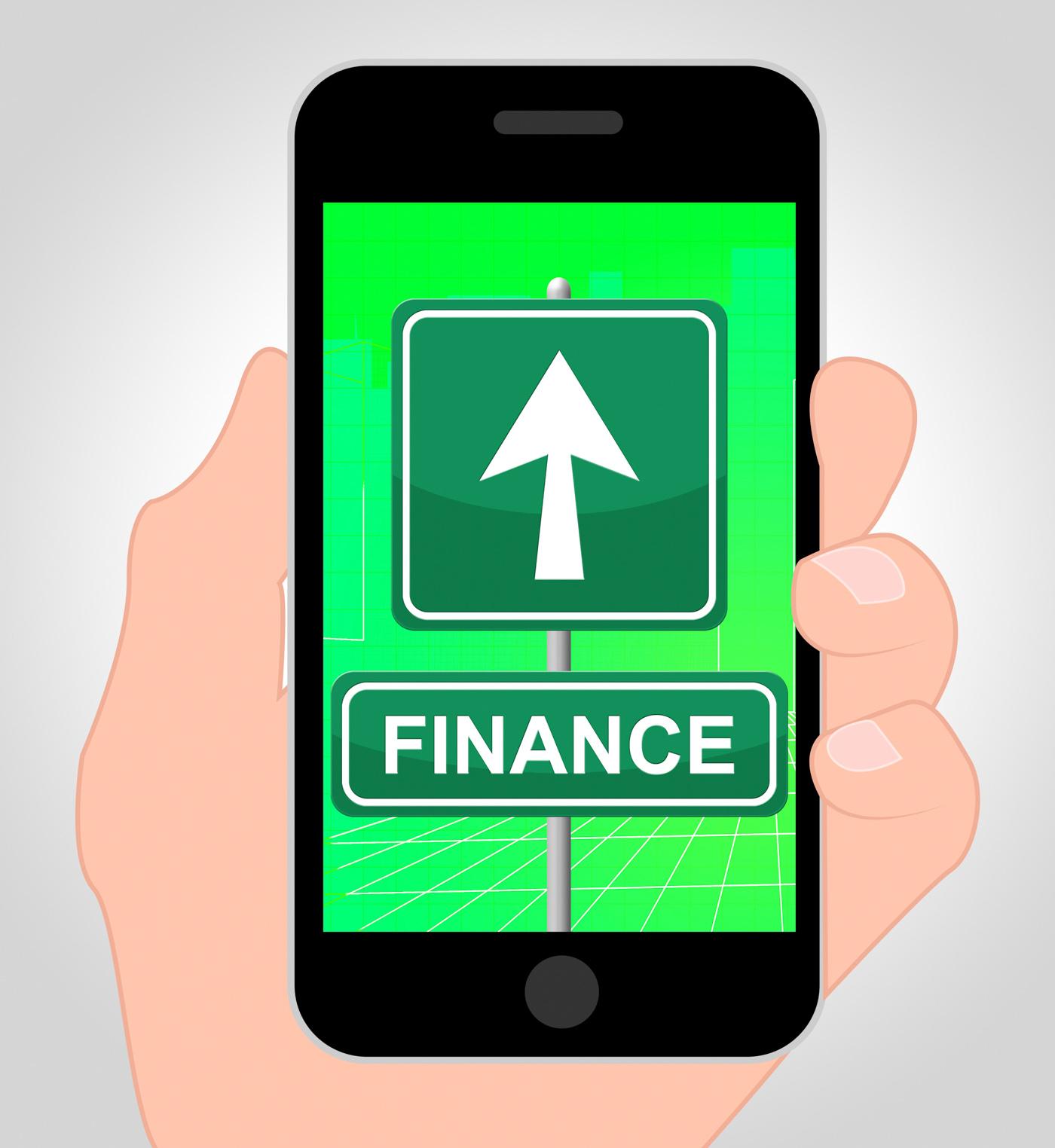 Finance folder represents financial investment 3d illustration photo