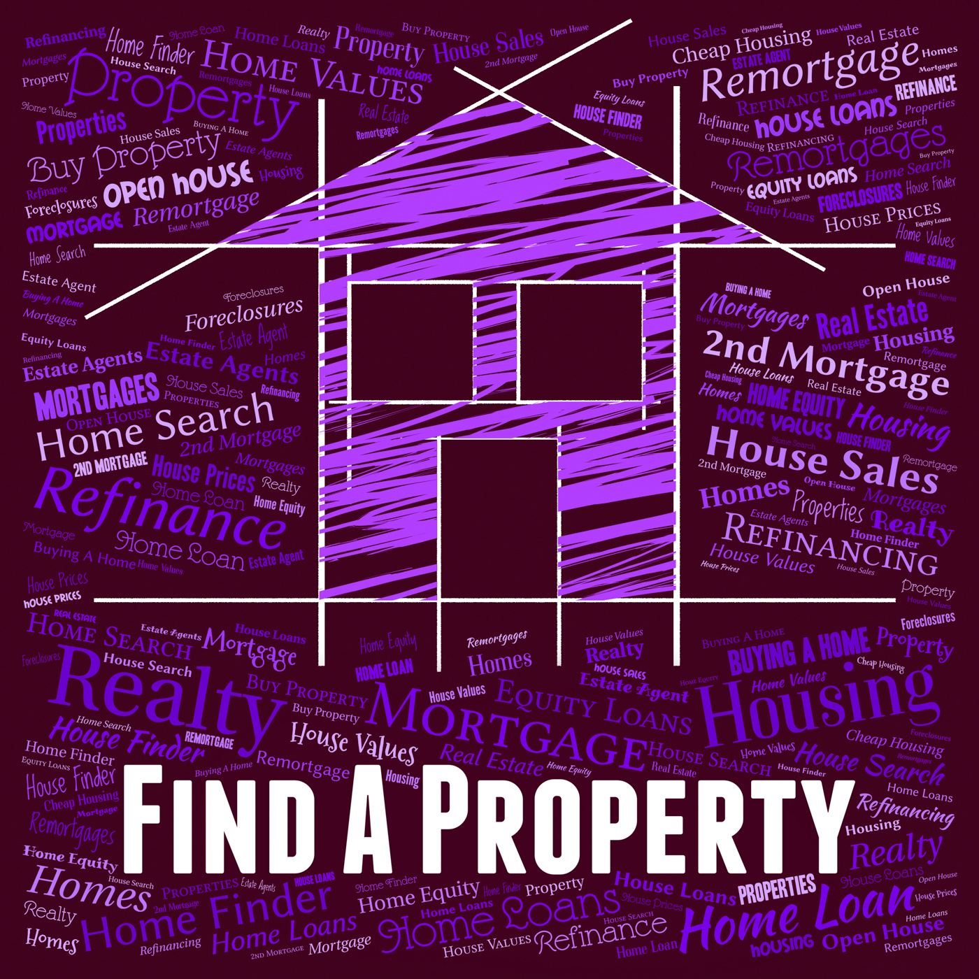 Find property means search for and apartment photo