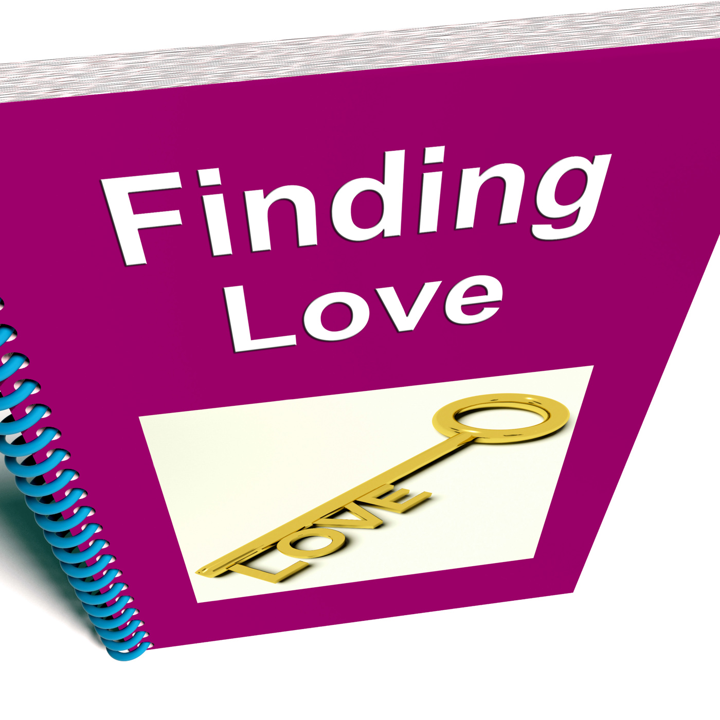 Finding love book shows relationship advice photo