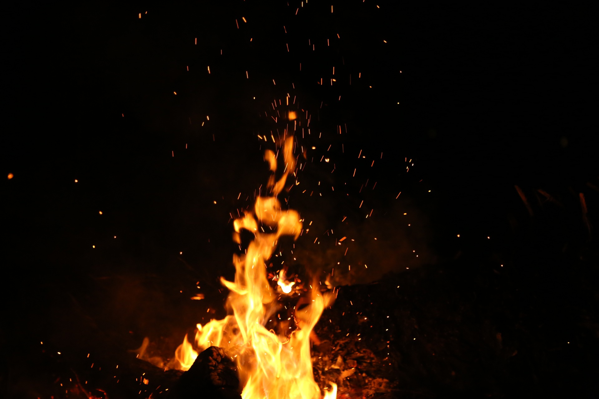 Fire flame photo