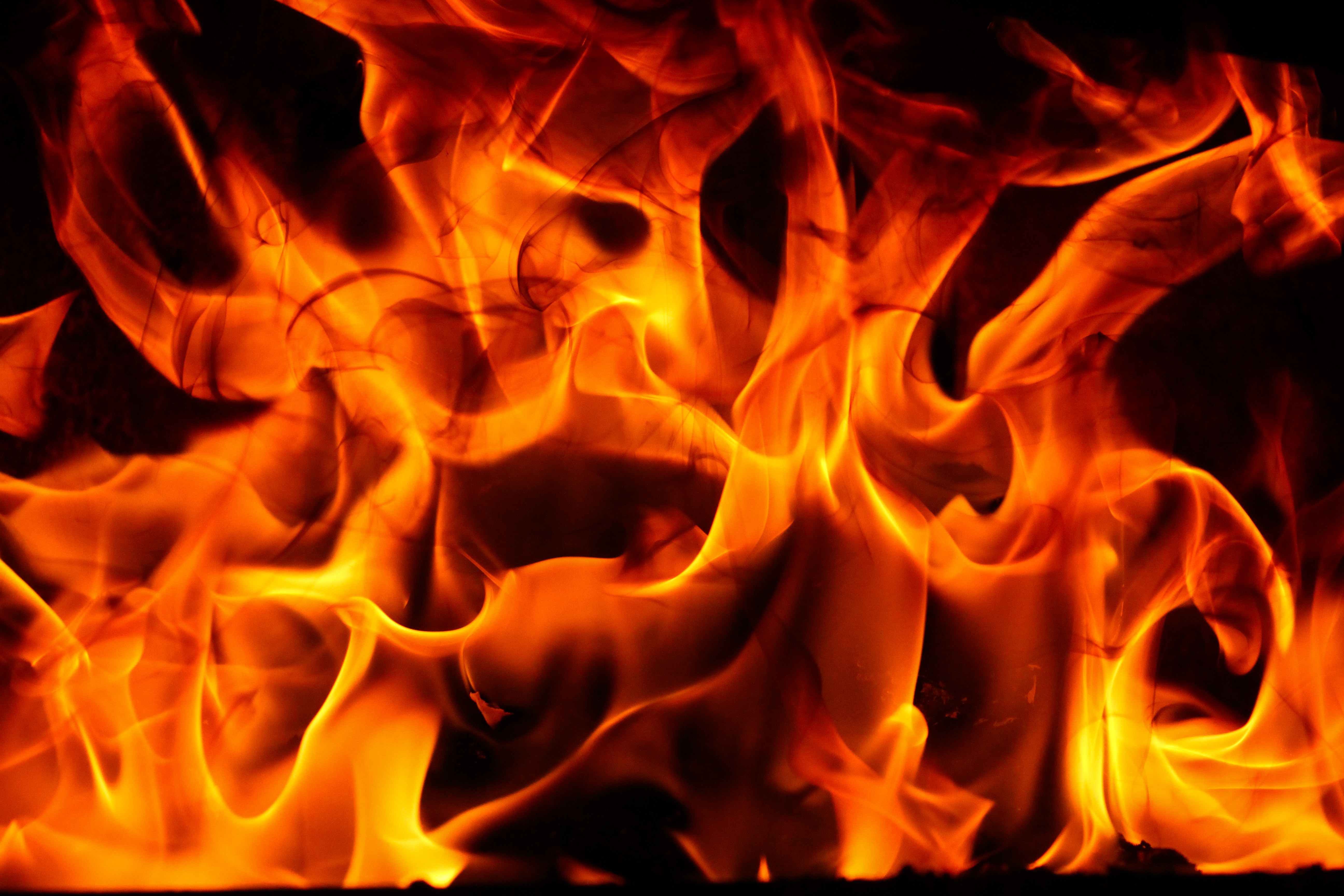 Free Photo Fire Barbecue Wallpaper Raging Free