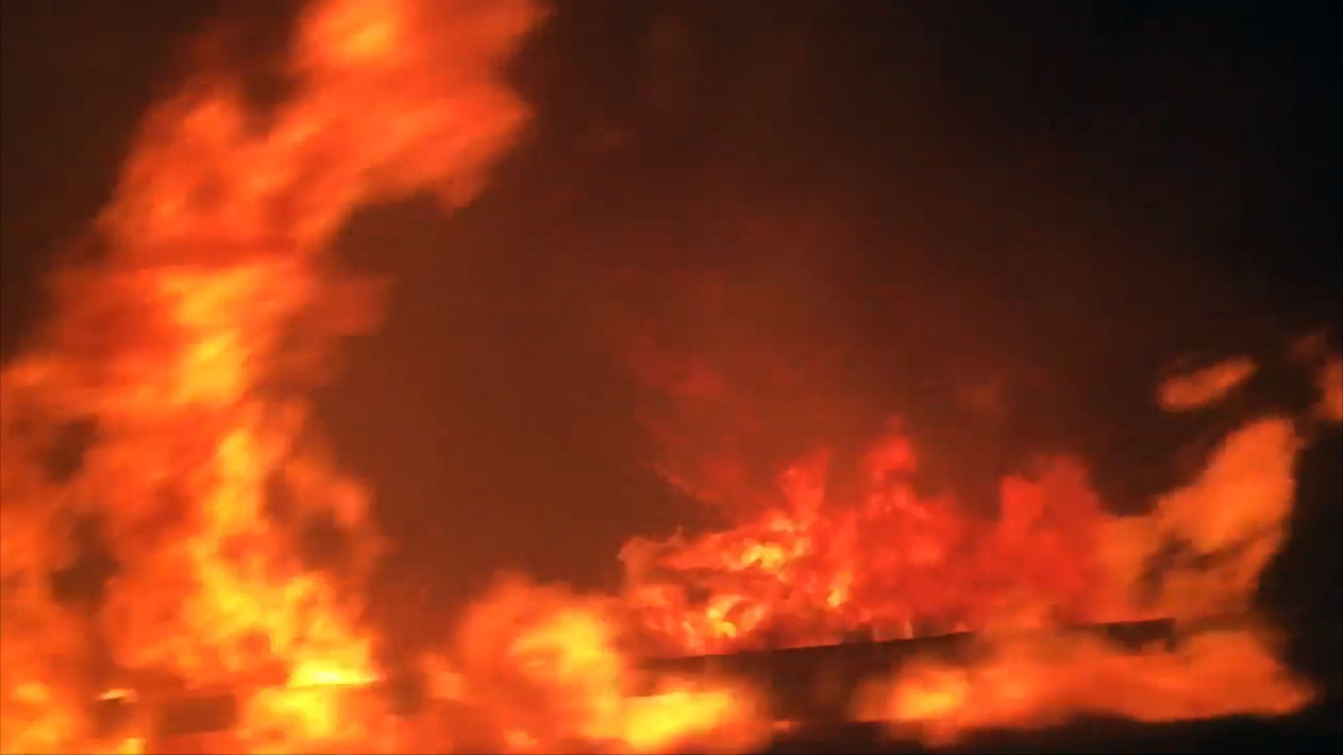 Family Races to Escape Solimar Fire