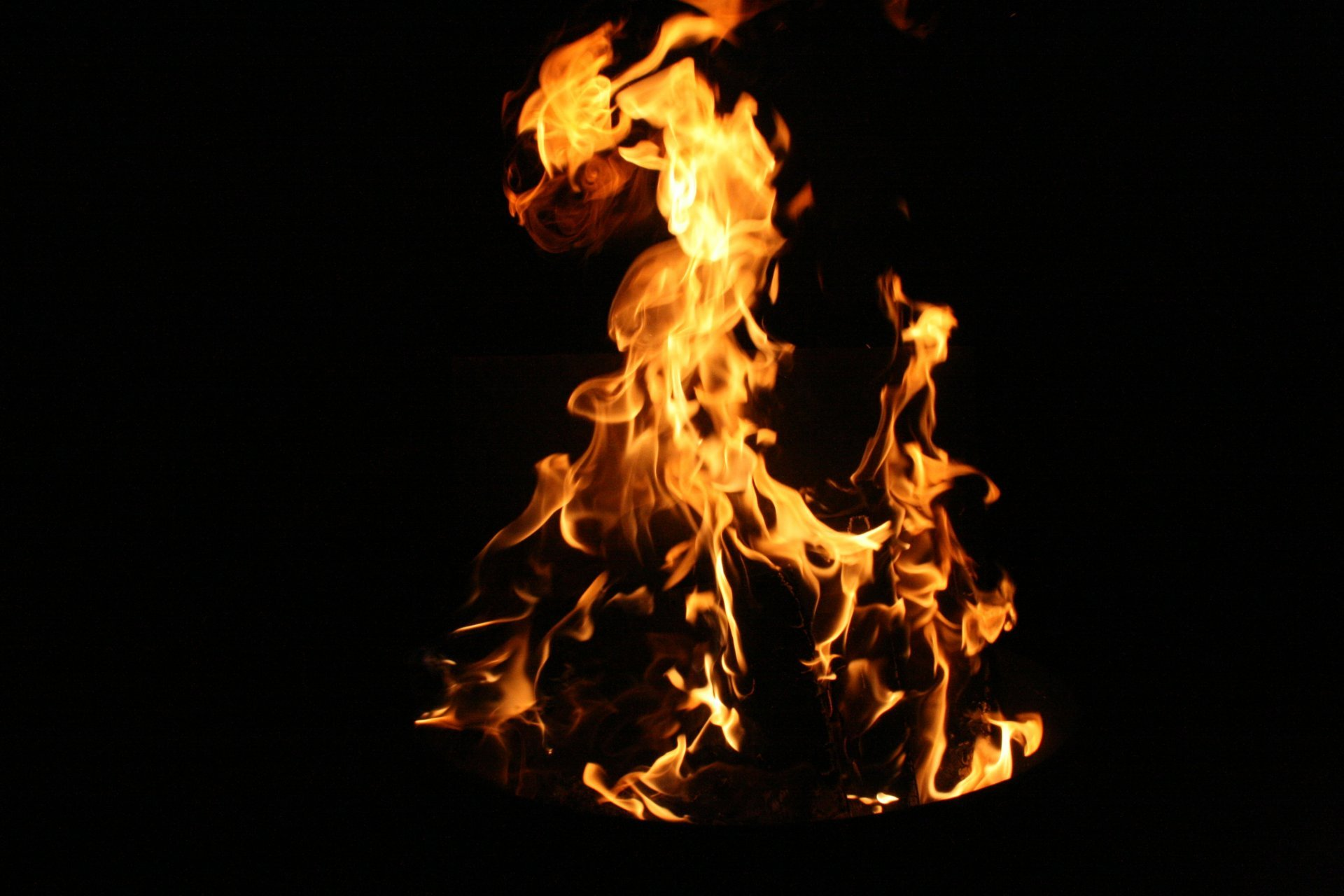 background wallpaper close up nature fire flame flames night HD ...