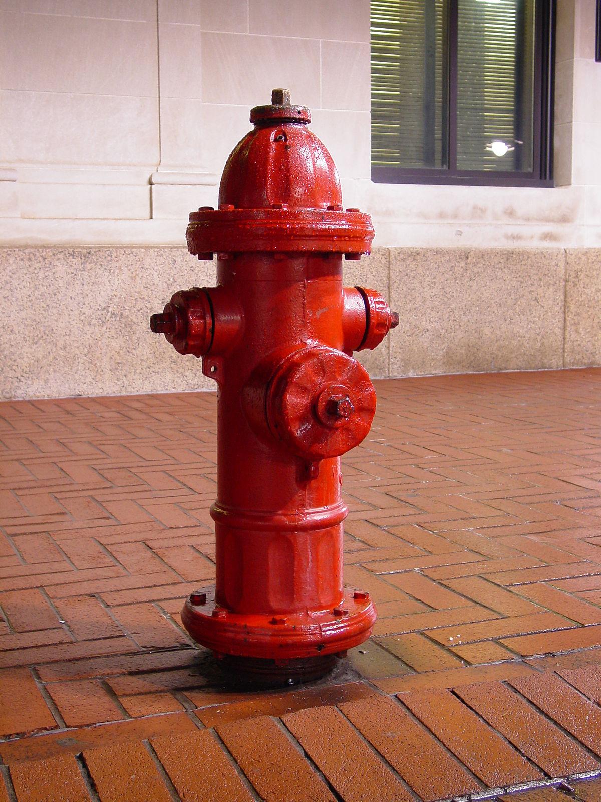 Three hydrants photo