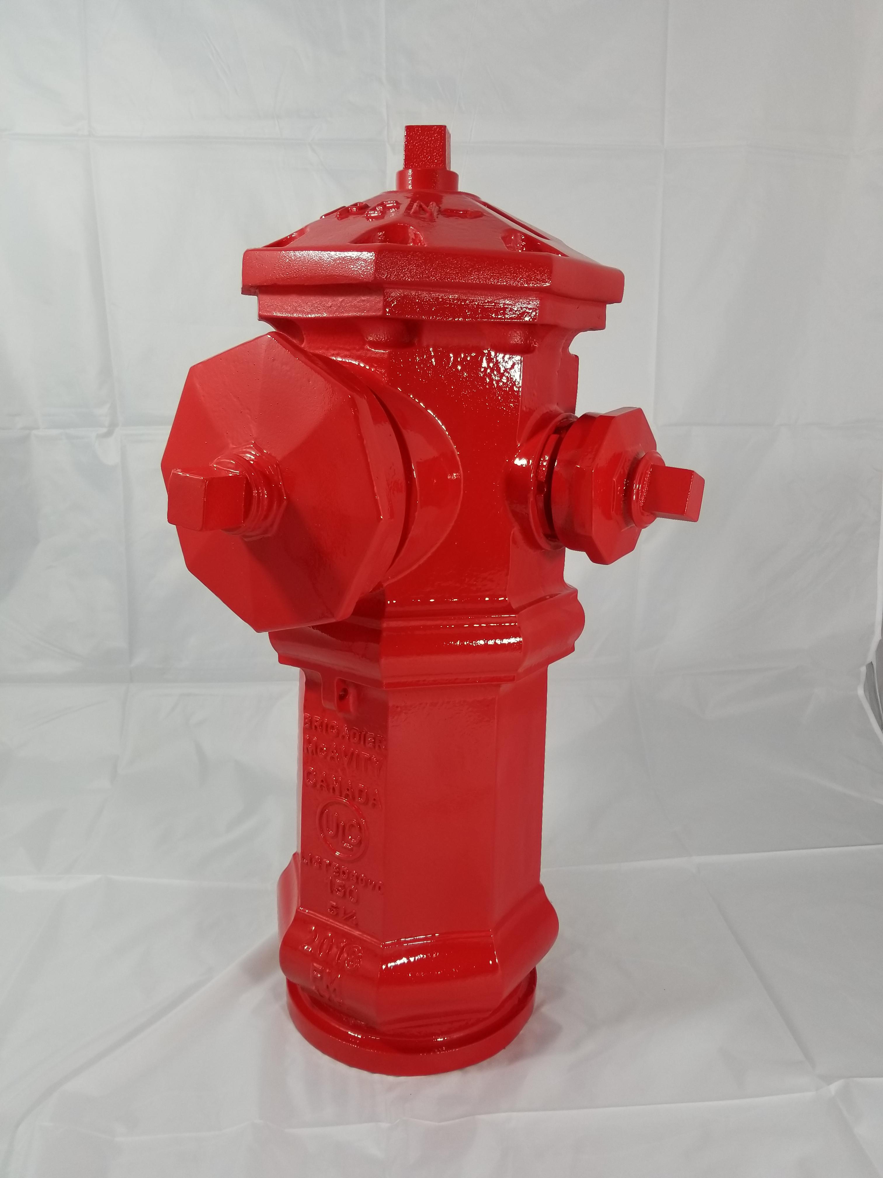 Replica Clow Canada 150 Fire Hydrant - Icon Poly