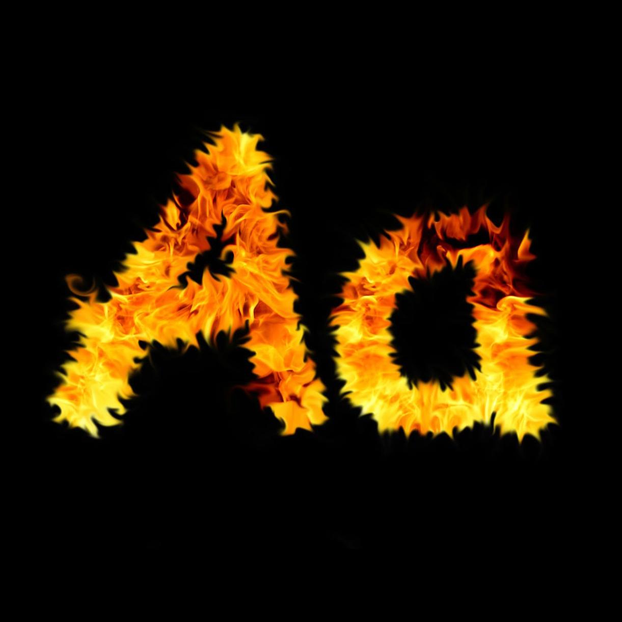 Fire letter, Magic, Glow, Heat, Hot, HQ Photo