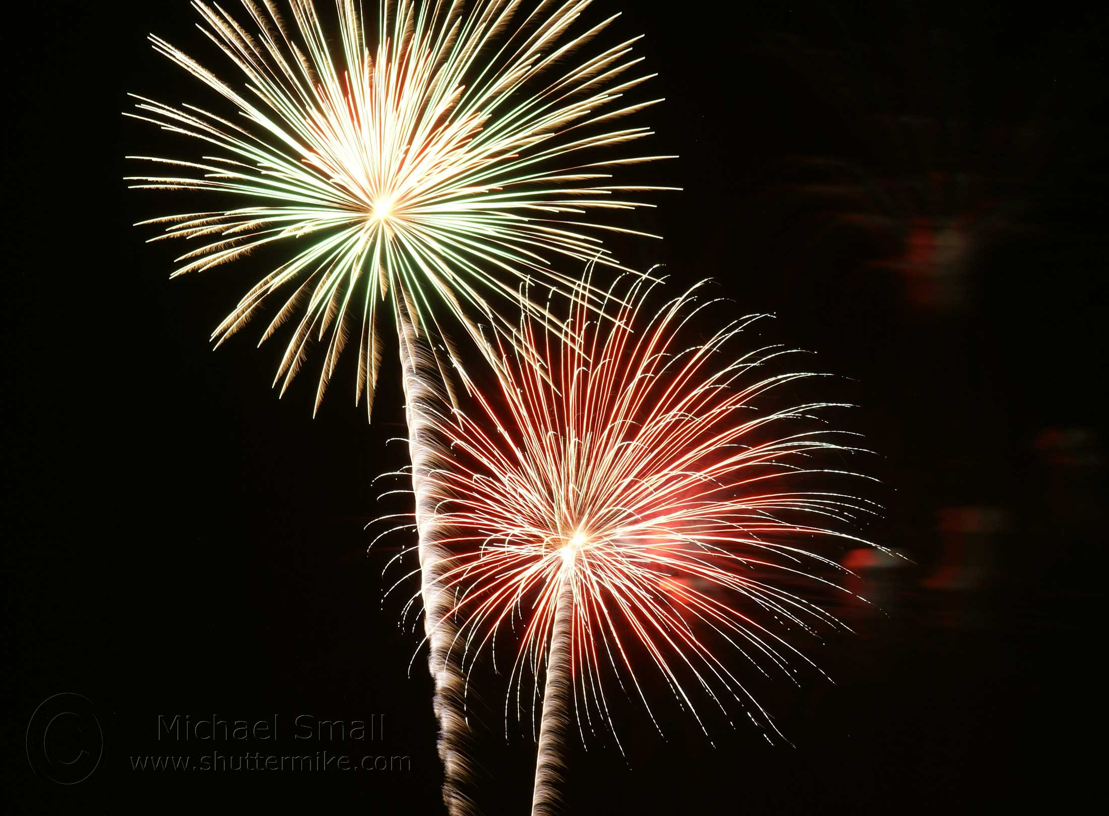 Fire works 2 photo