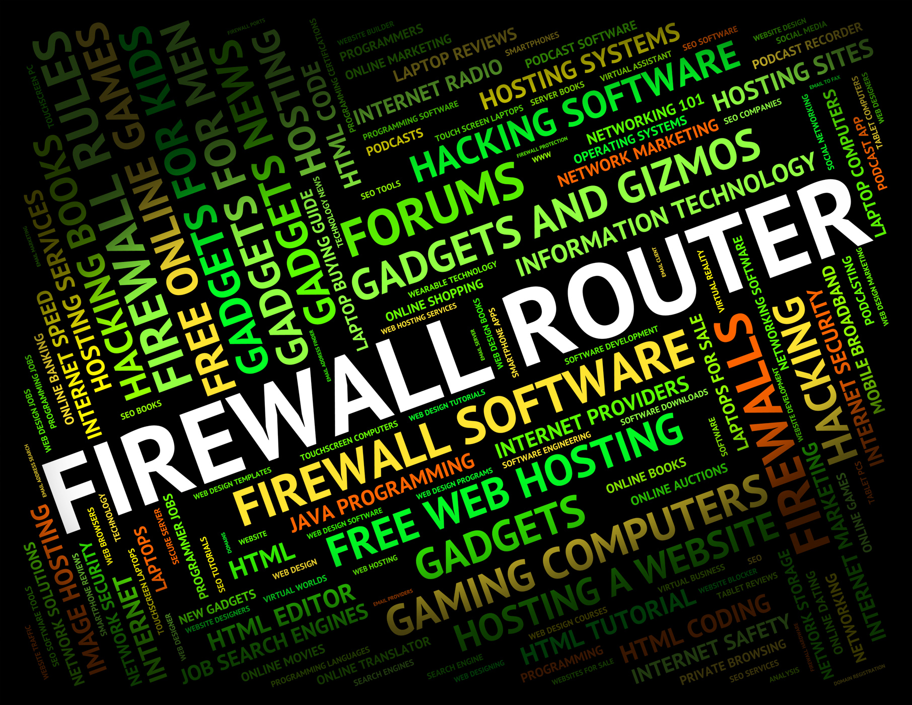 Firewall Router Represents Word Protect And Routing, Defence, Route, Word, Wall, HQ Photo
