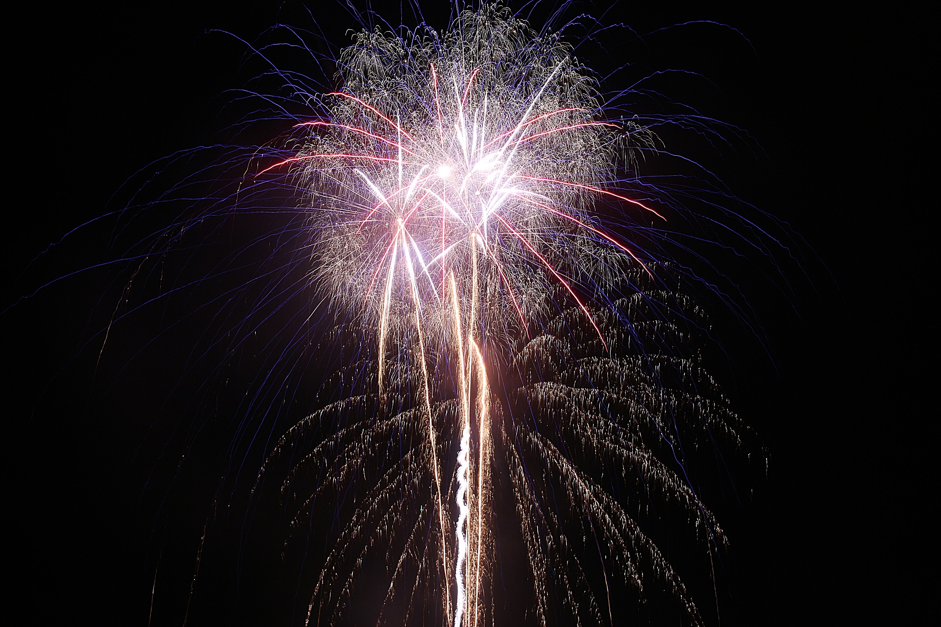 Fireworks, Bonfire, Celebrate, Celebration, Colorful, HQ Photo