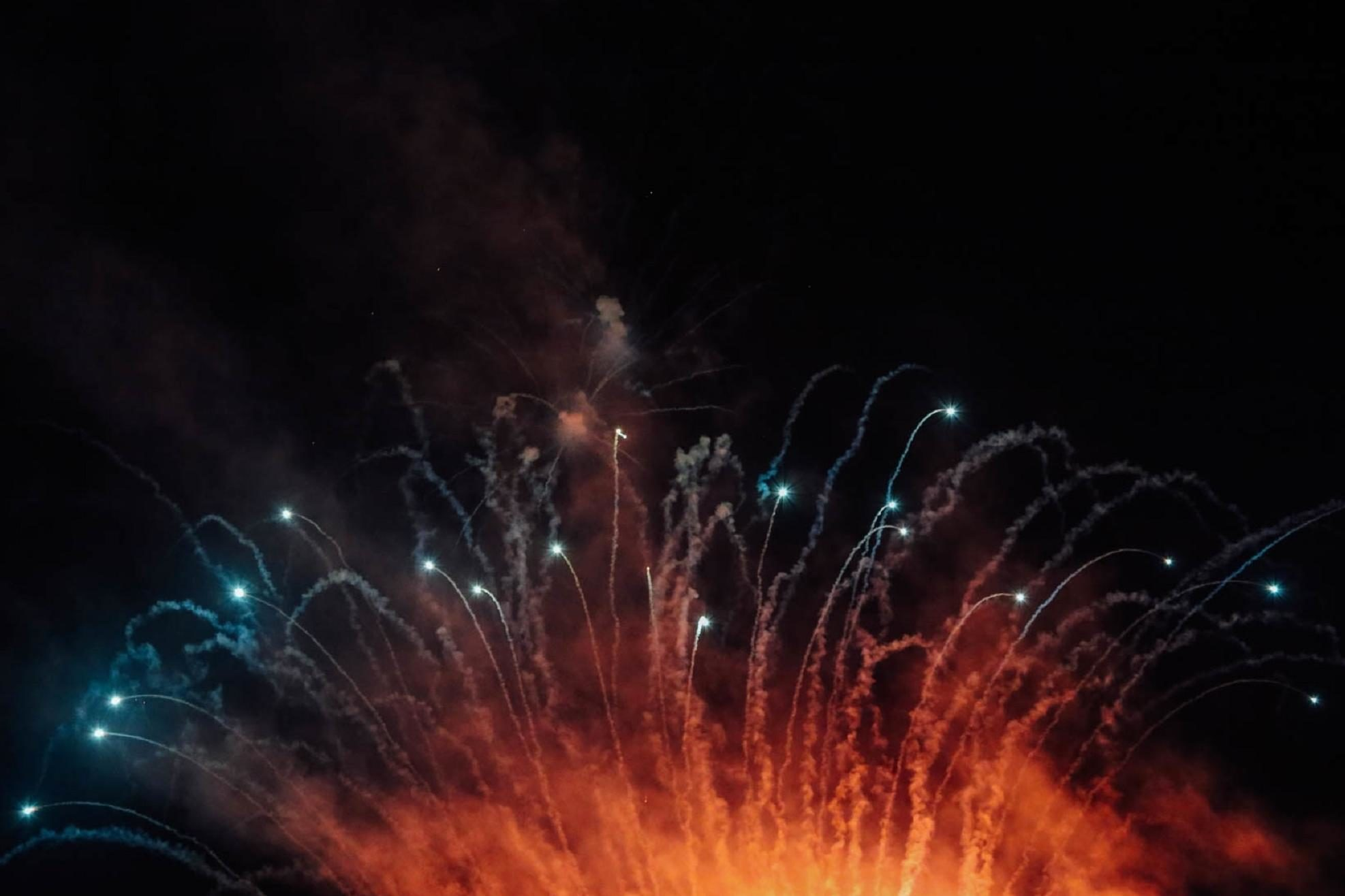 Free picture: flame, fireworks, explosion, festival, smoke, energy