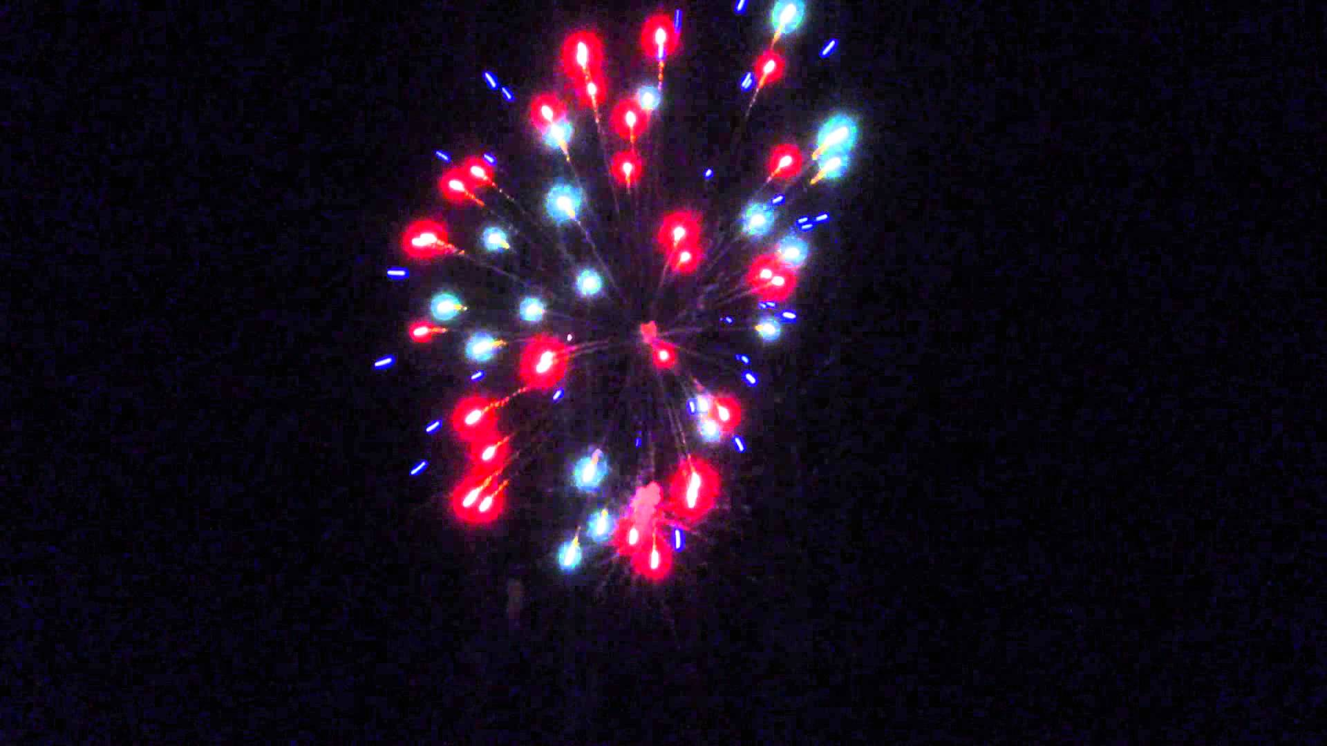 Badaboom Fireworks Machine Gun - YouTube