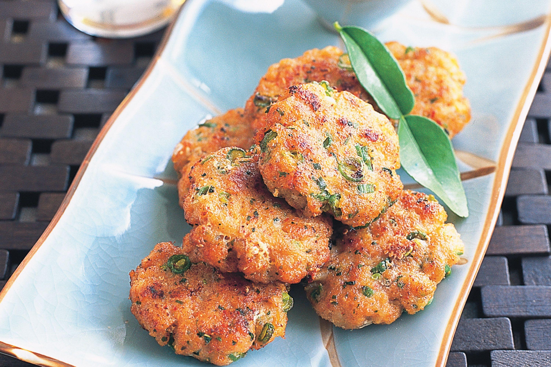 Thai fried fishcake photo