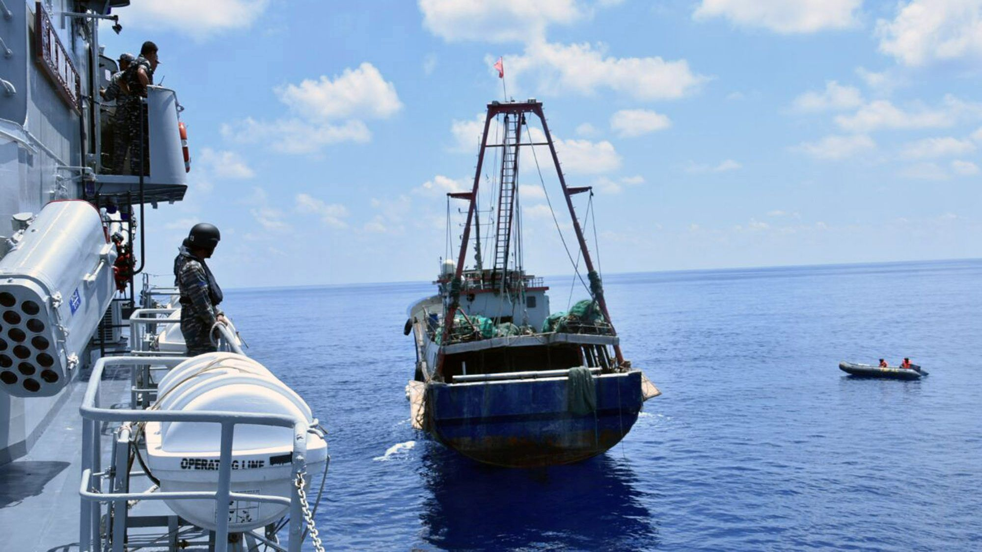 In a threat to China, Malaysia says it will sink illegal fishing ...