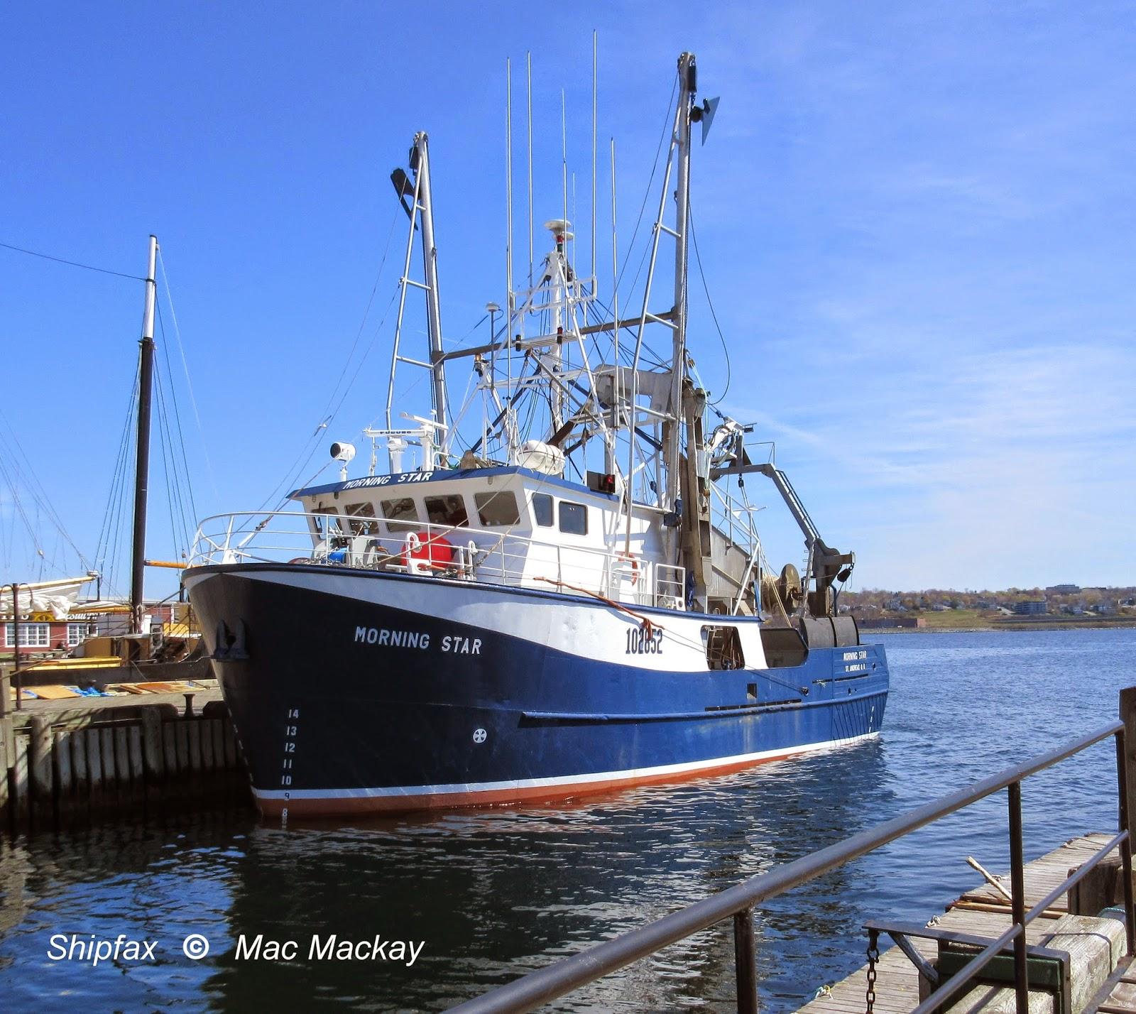 Shipfax: Fishing Boats, Now and Then - UPDATED
