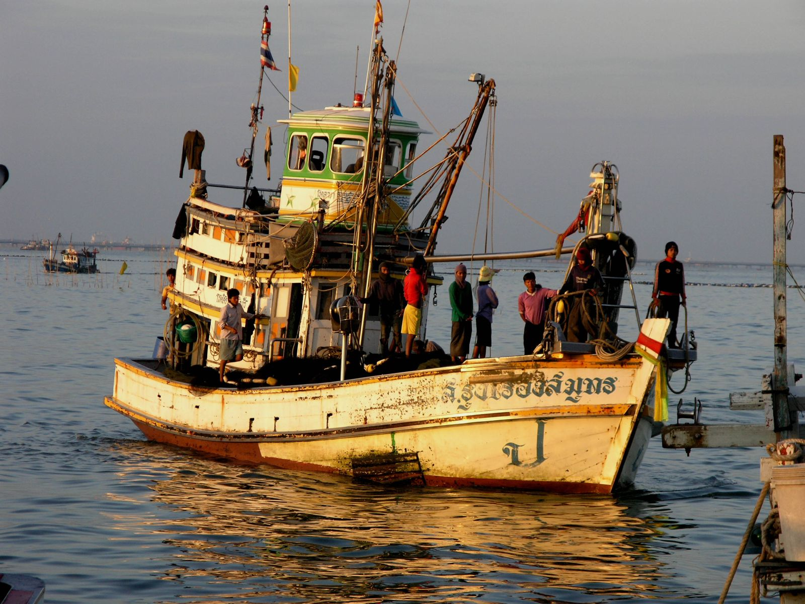 Thailand: Groups condemn govt. plan to use prison labour in fishing ...