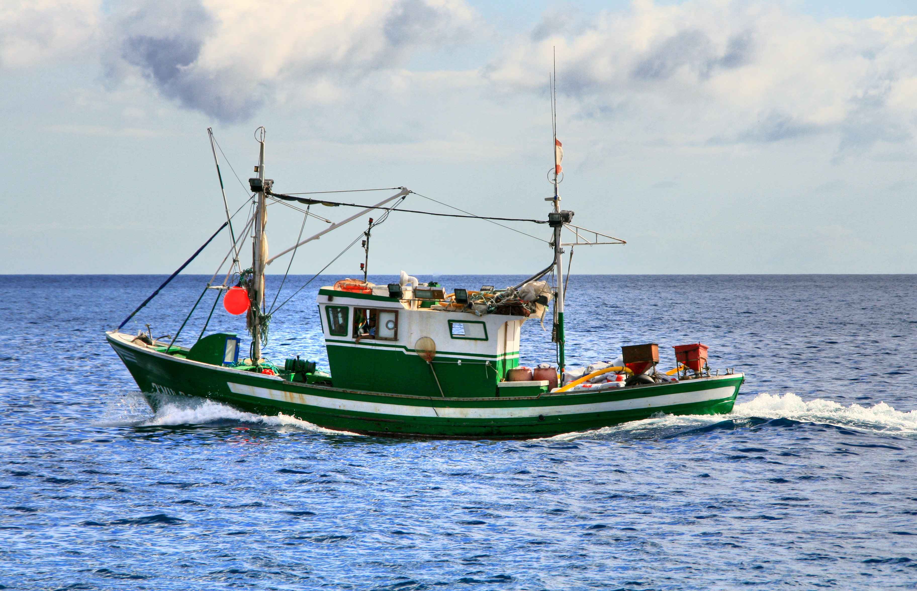 File:Fishing boat in the Canary Islands.jpg - Wikimedia Commons