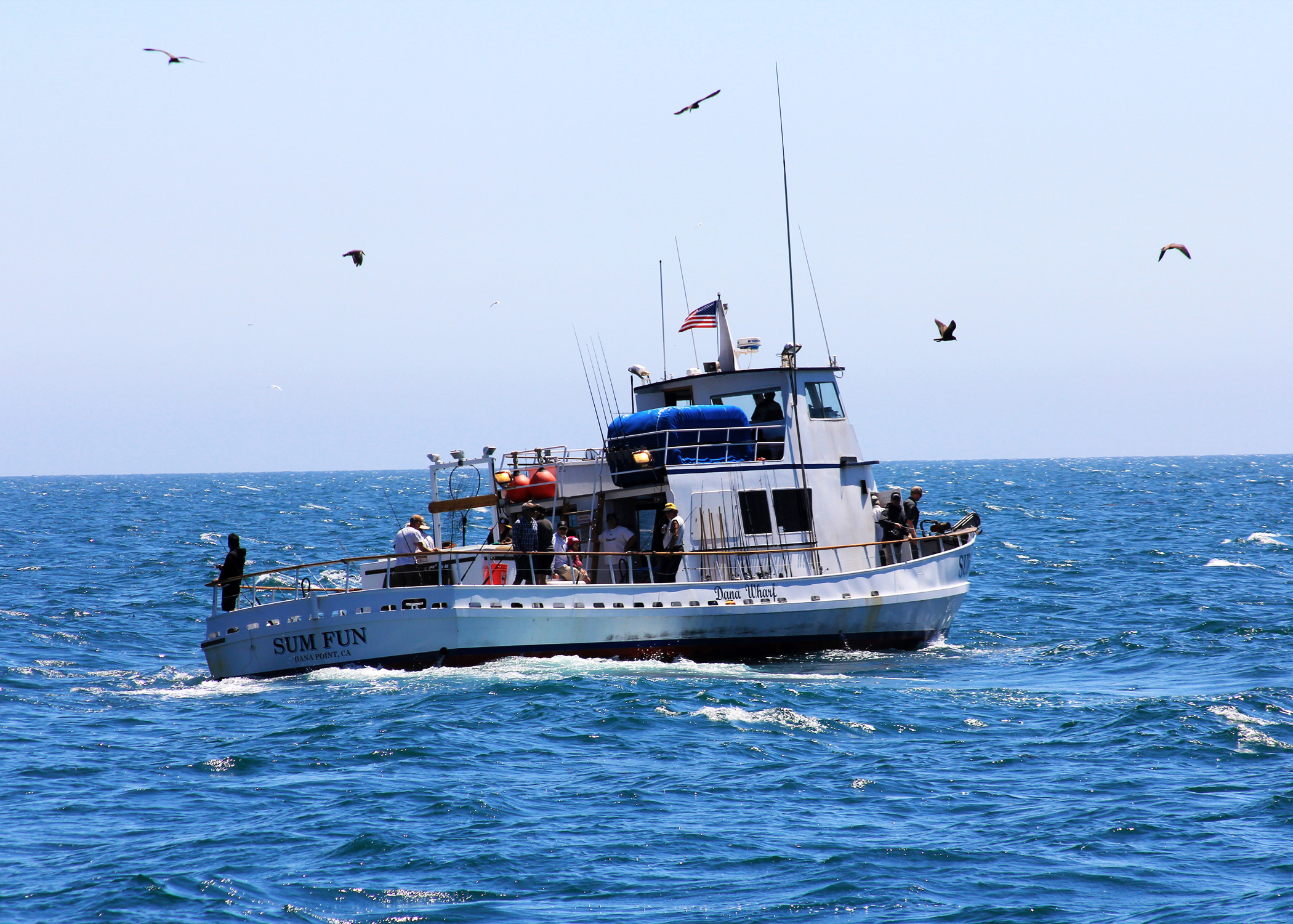 Cooking Passengers' Fish Aboard a Sport Fishing Boat? | California ...