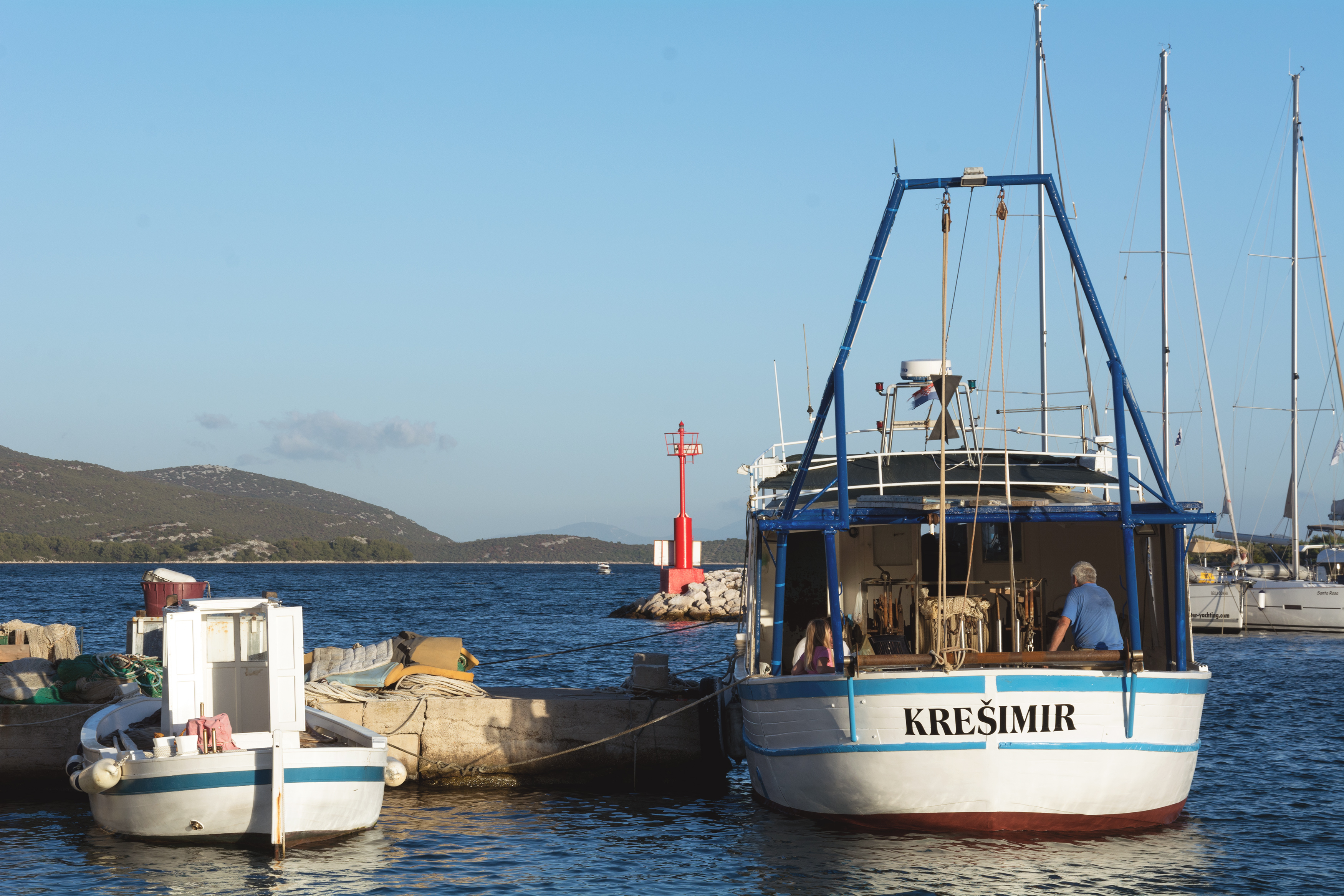 Free Image: Fishing Boats in a Harbour | Libreshot Public Domain Photos