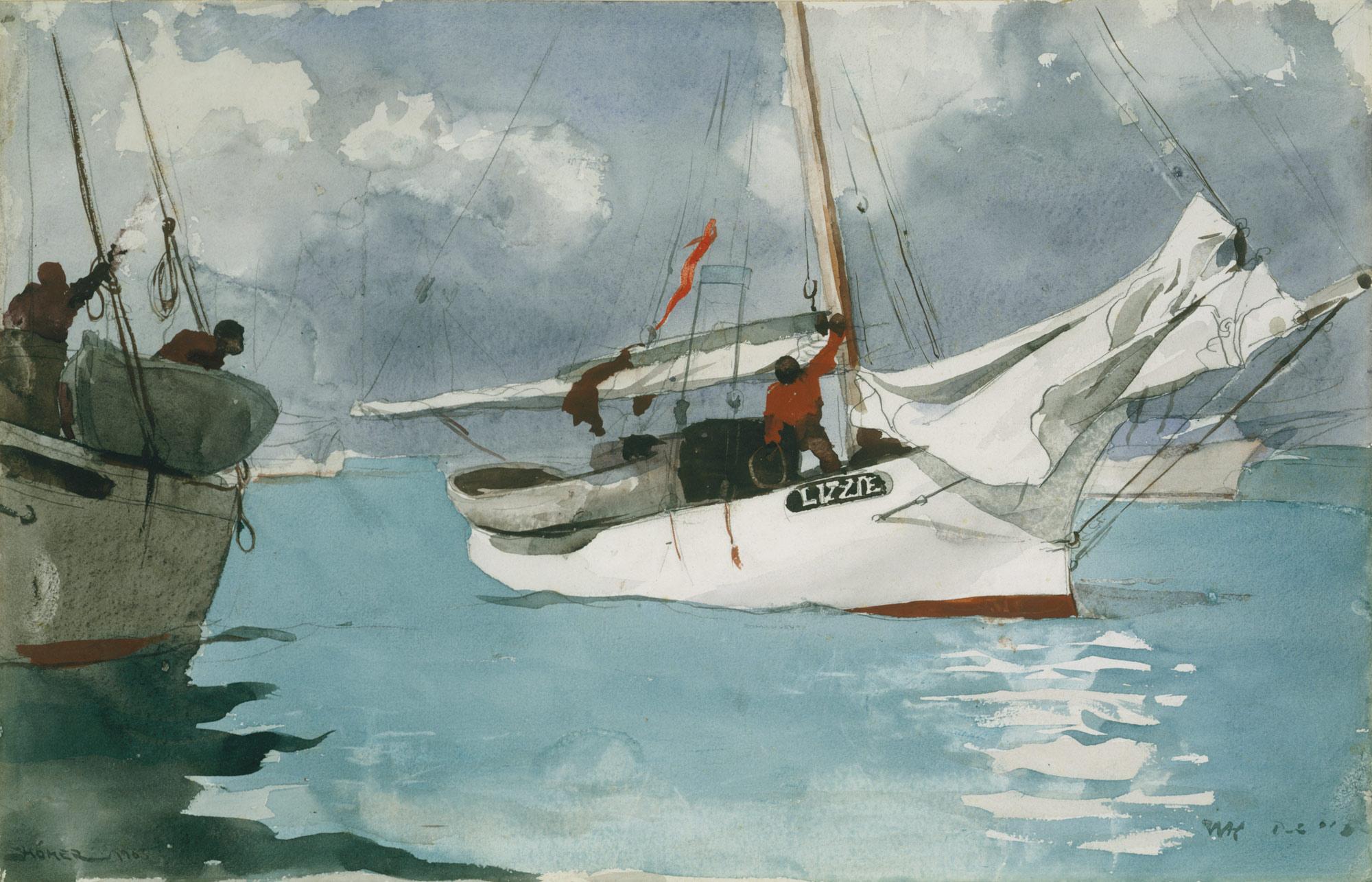 Fishing Boats, Key West | Winslow Homer | 10.228.1 | Work of Art ...