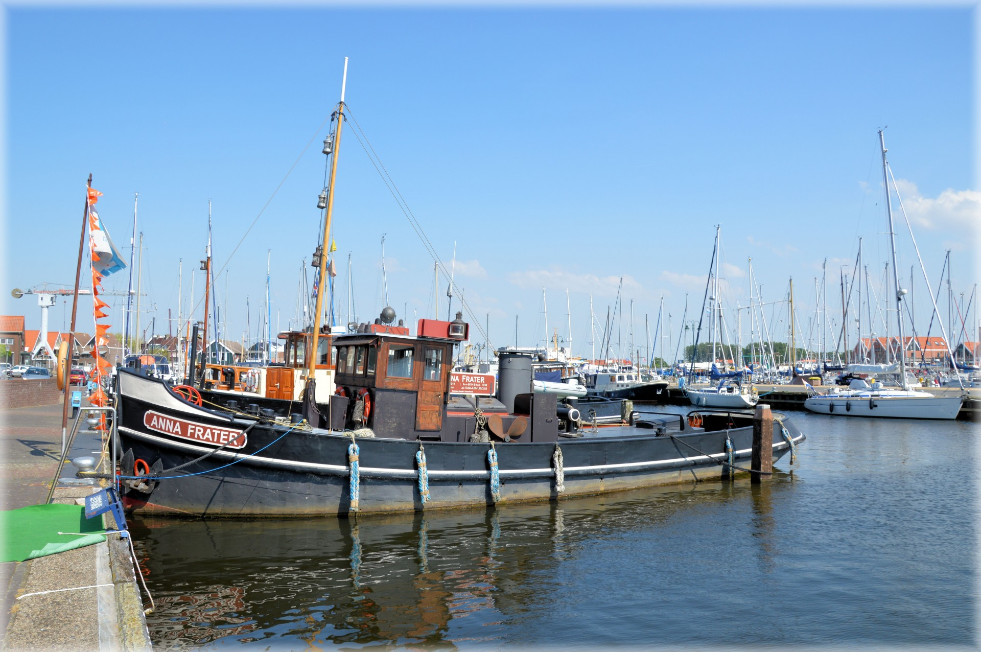 Fishing Boats Urk 4 Free Stock Photo - Public Domain Pictures