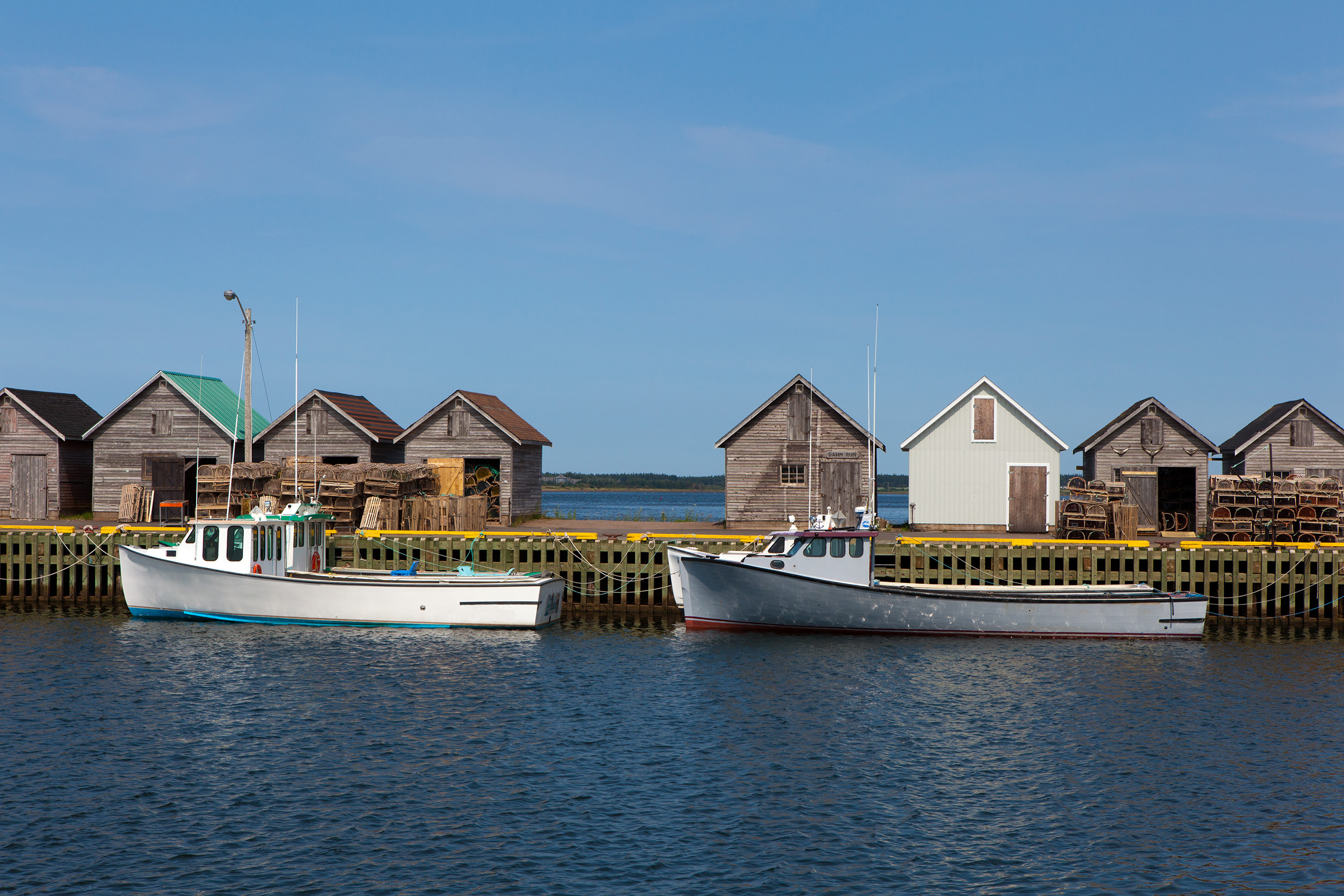 Fishing Boats, Atlantic, Outside, Water, Up, HQ Photo