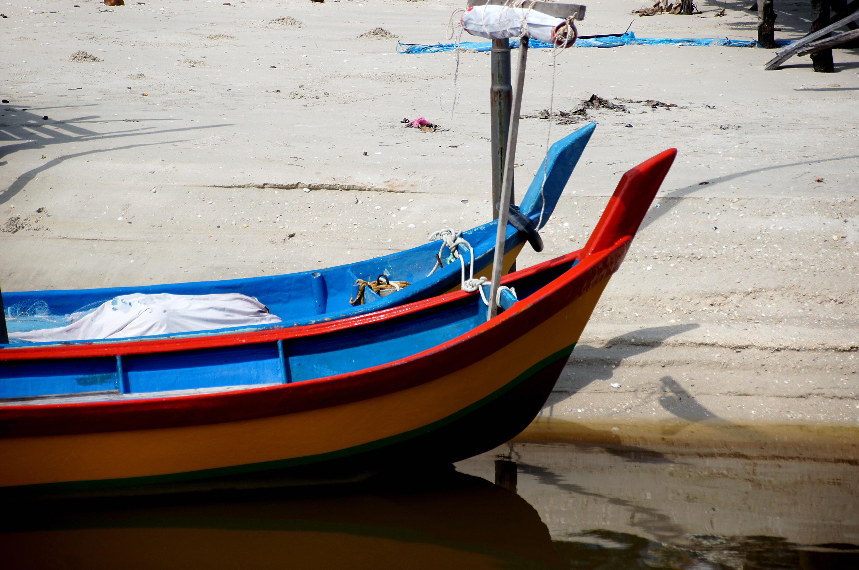 Fishing boats of Malaysia, Asia, Boat, Boats, Colors, HQ Photo