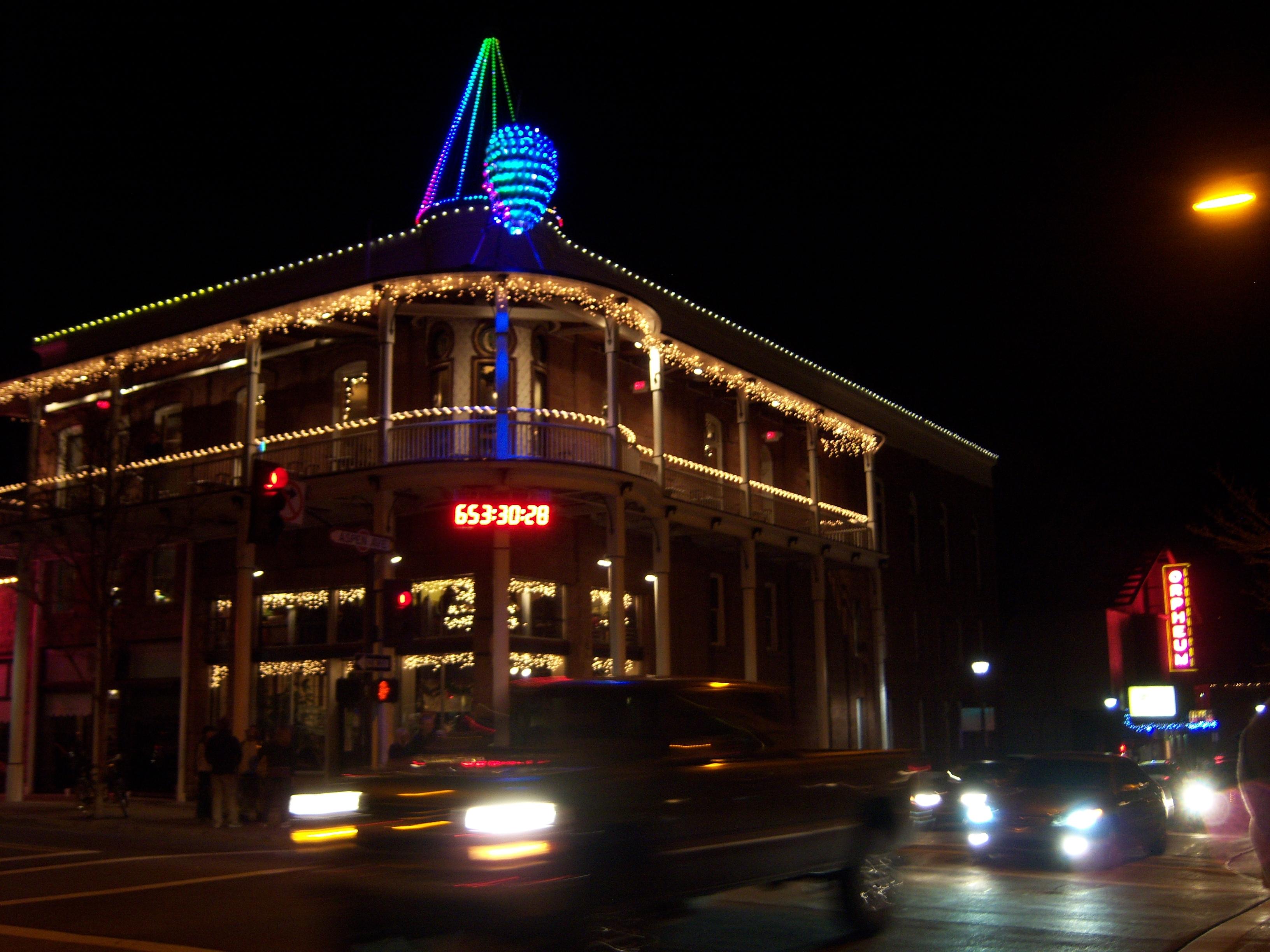 Flagstaff Art Walk, Architecture, Arizona, Building, Christmas, HQ Photo