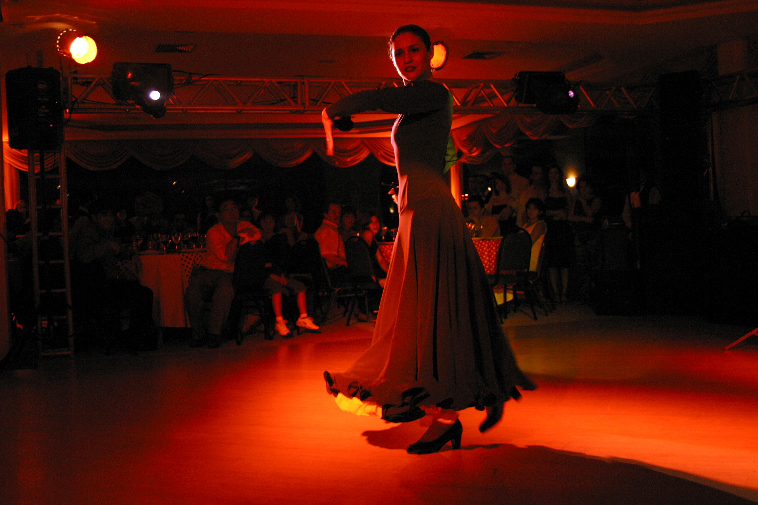 Flamenco dancer photo