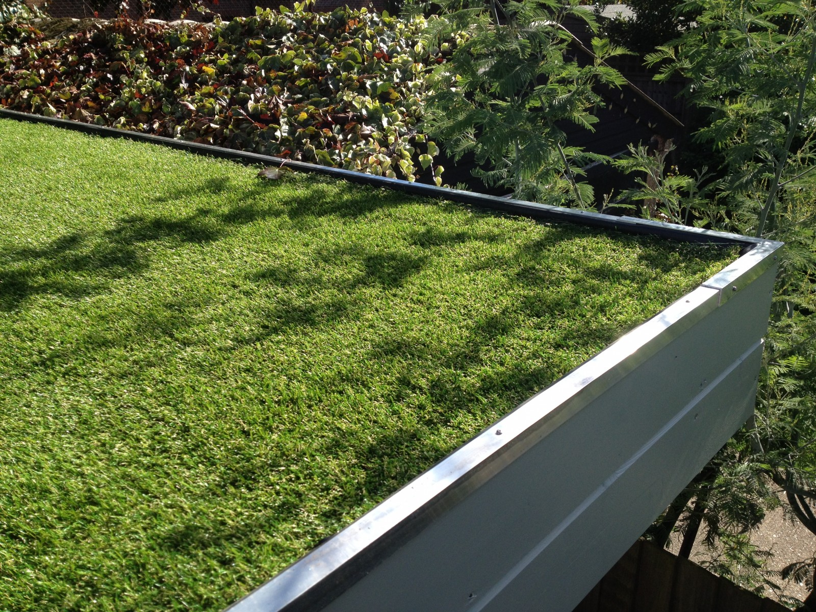Free Photo Flat Green Roof Planted Plant Roof Free