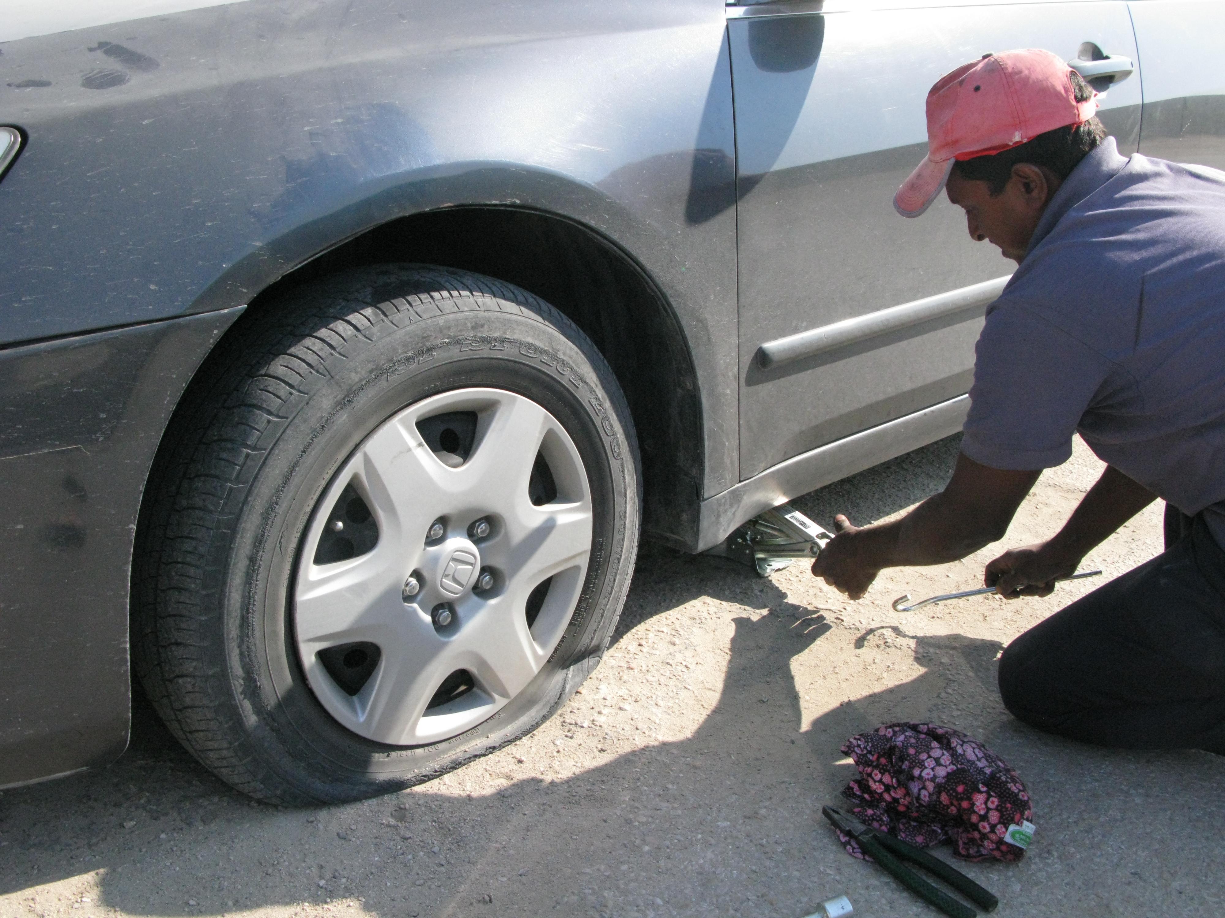 Fixing a Flat Tire | Z Tire Express