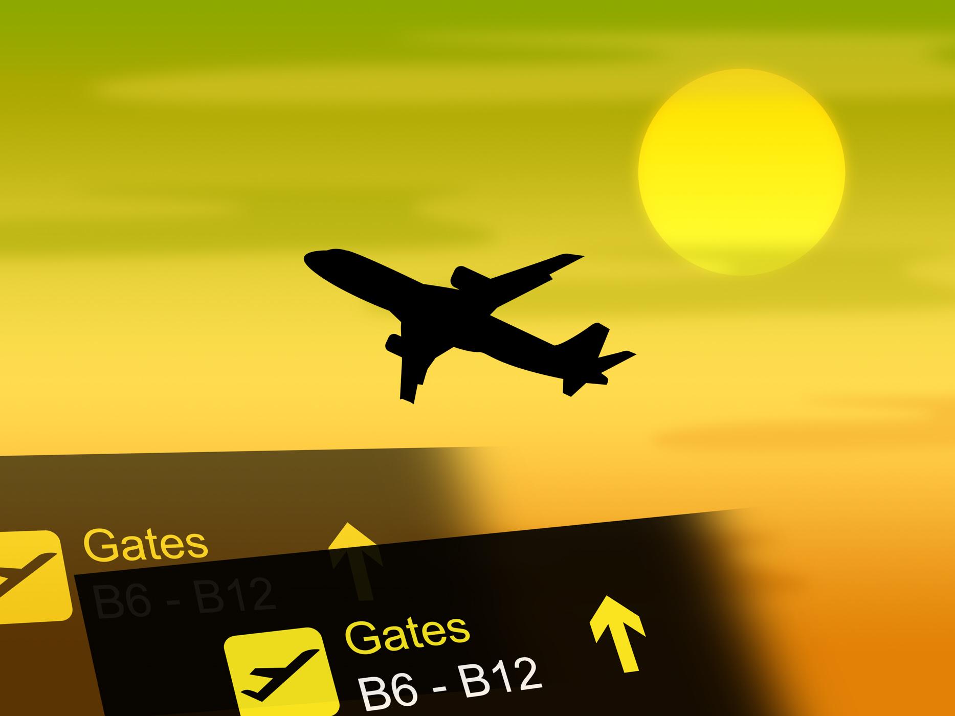 Flight Vacation Shows Vacationing Transportation And Flights, Holiday, Vacationing, Vacational, Vacation, HQ Photo