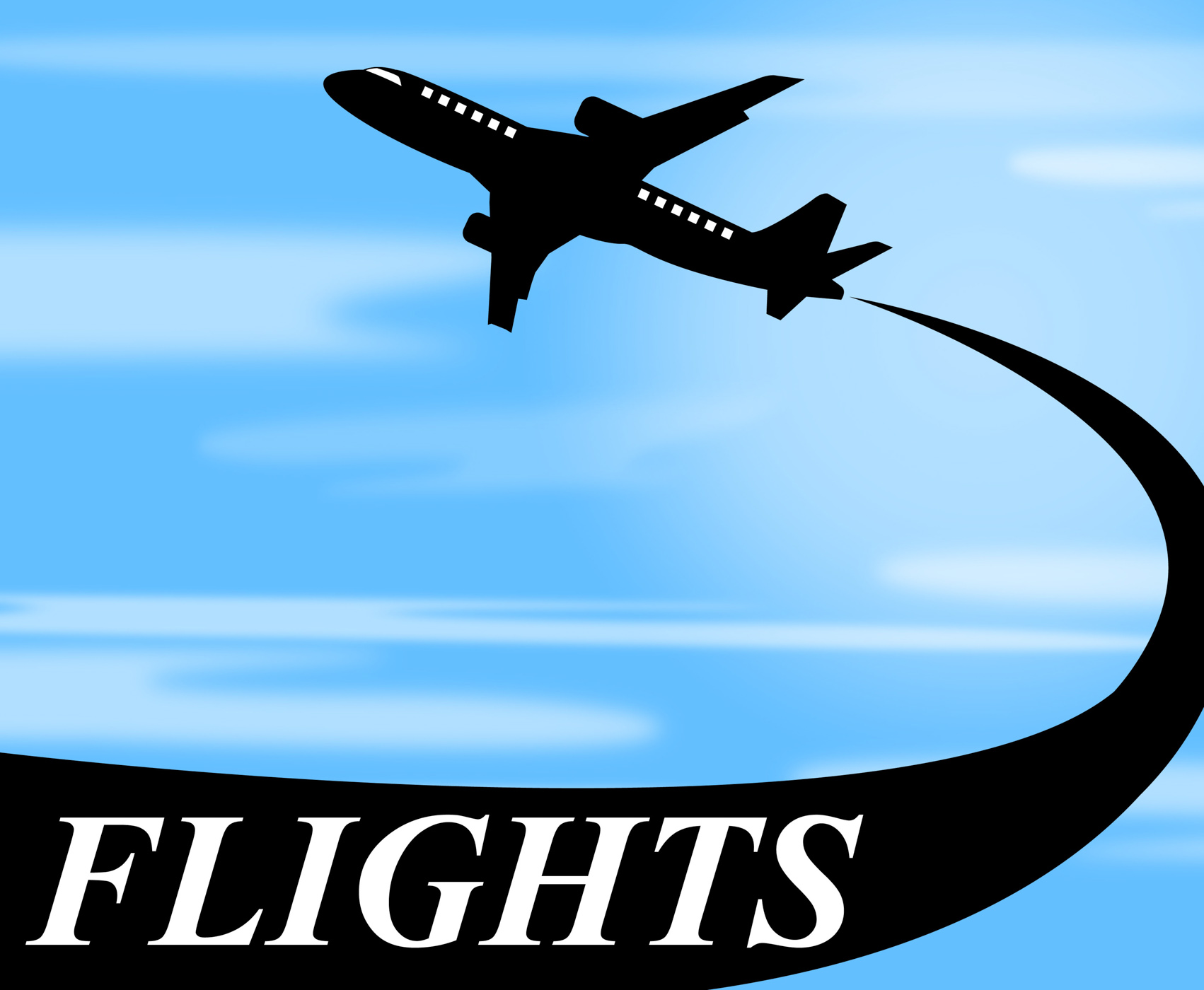 Flights Plane Shows Go On Leave And Air, Aeroplane, Jet, Vacationing, Vacational, HQ Photo
