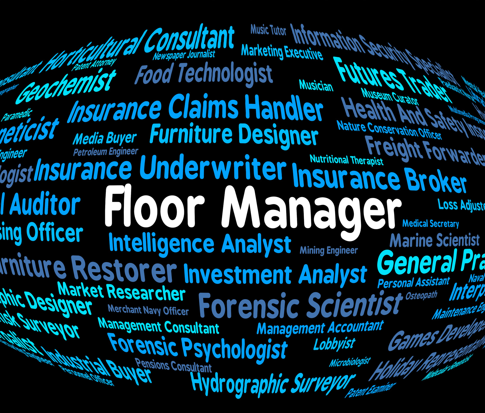 Floor manager means managers principal and stage photo