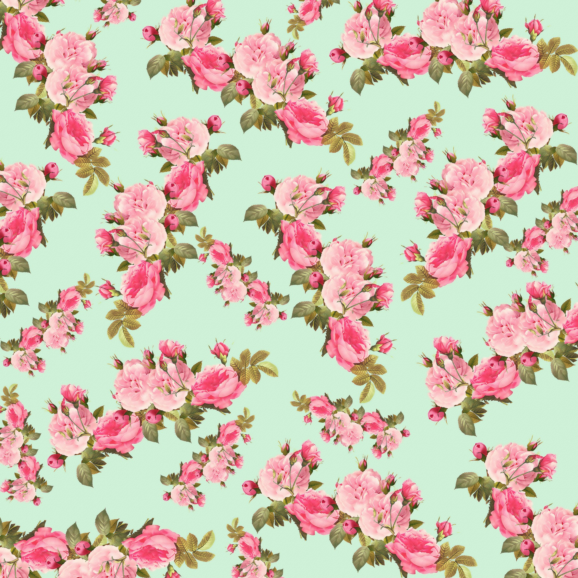 Vintage Roses Floral Background Free Stock Photo - Public Domain ...