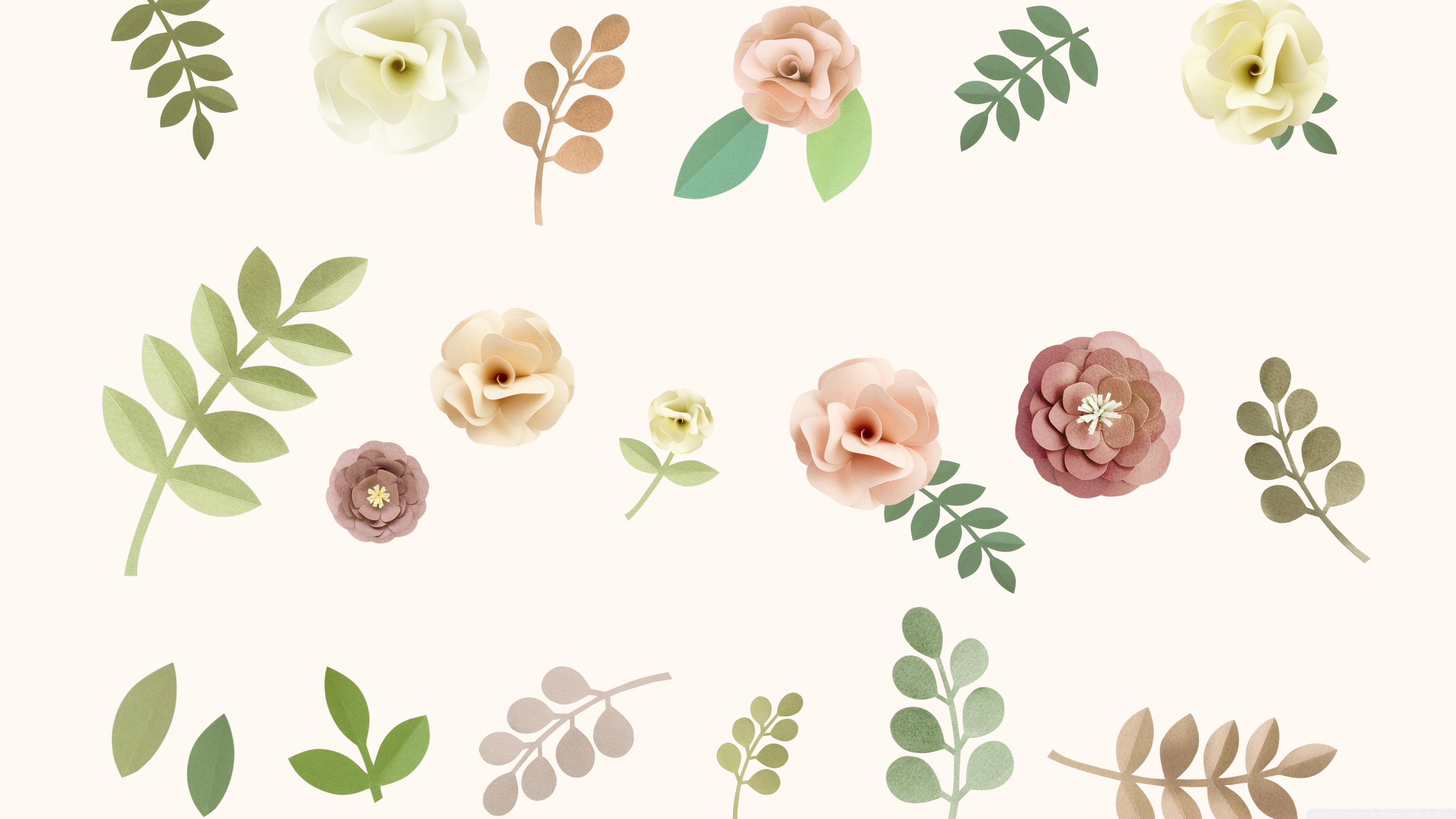 Pastel Floral Background ❤ 4K HD Desktop Wallpaper for 4K Ultra HD ...