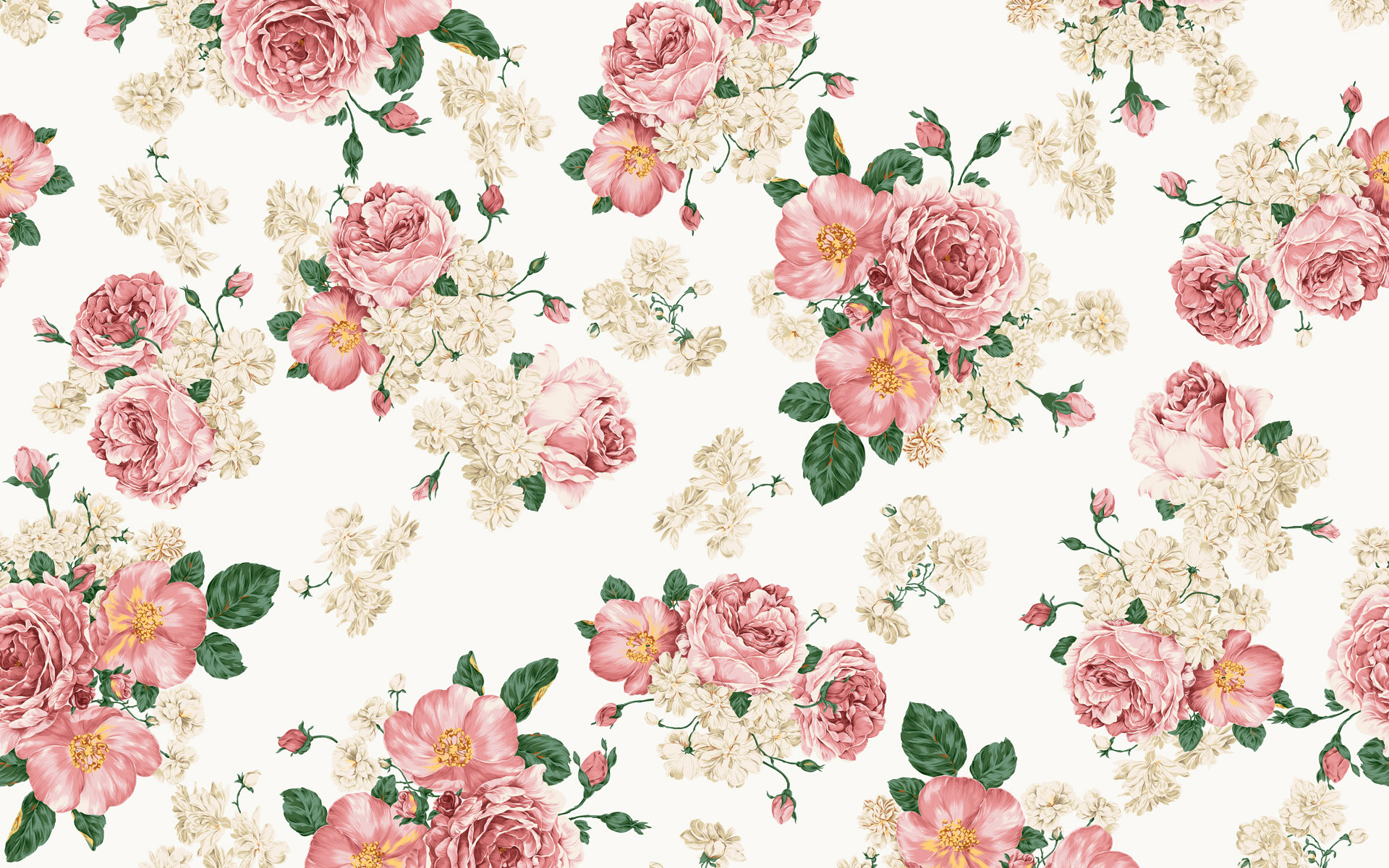 Free Floral Pattern Design Backgrounds For PowerPoint - Flower PPT ...
