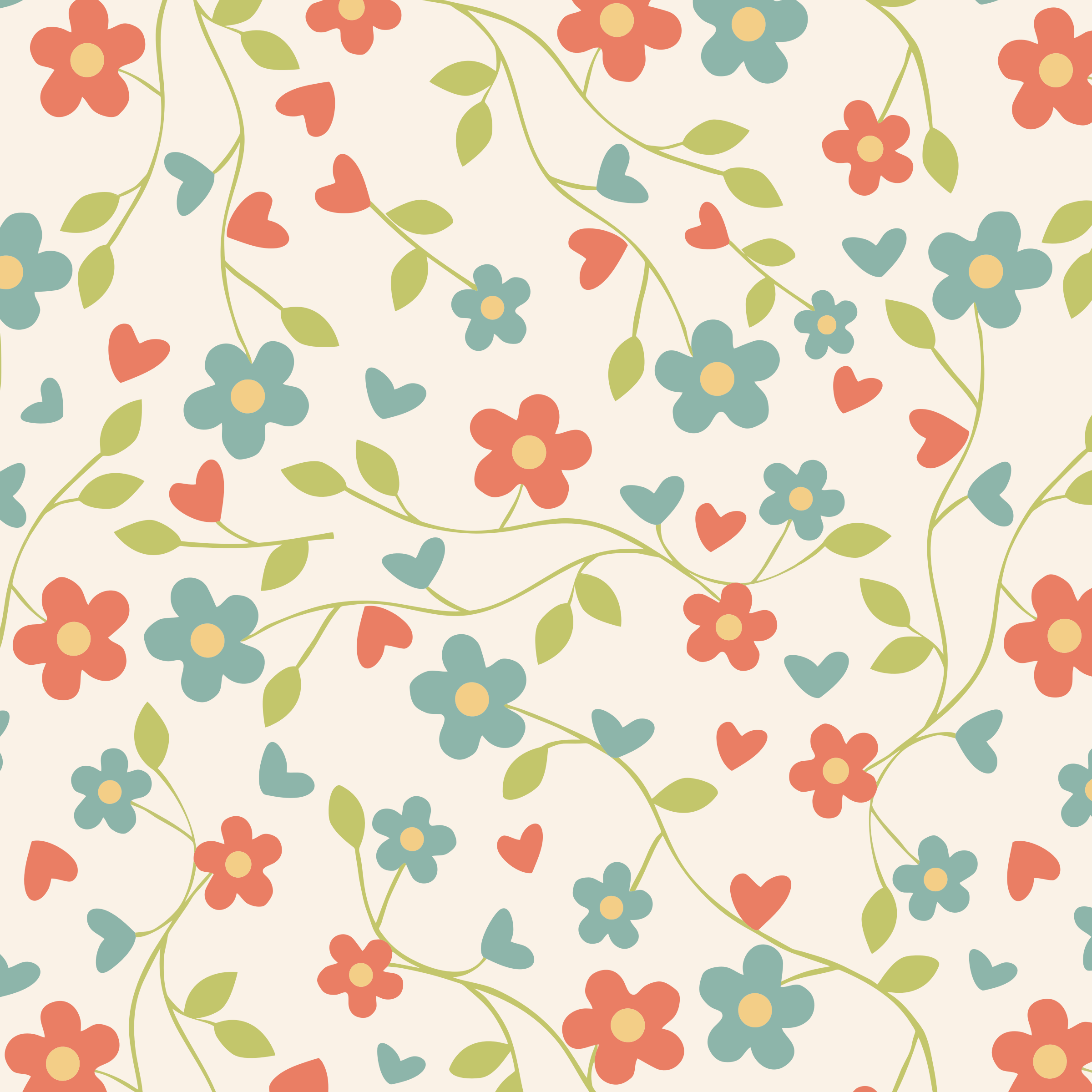 Floral Pattern Background Best Wallpaper 16333 - Baltana