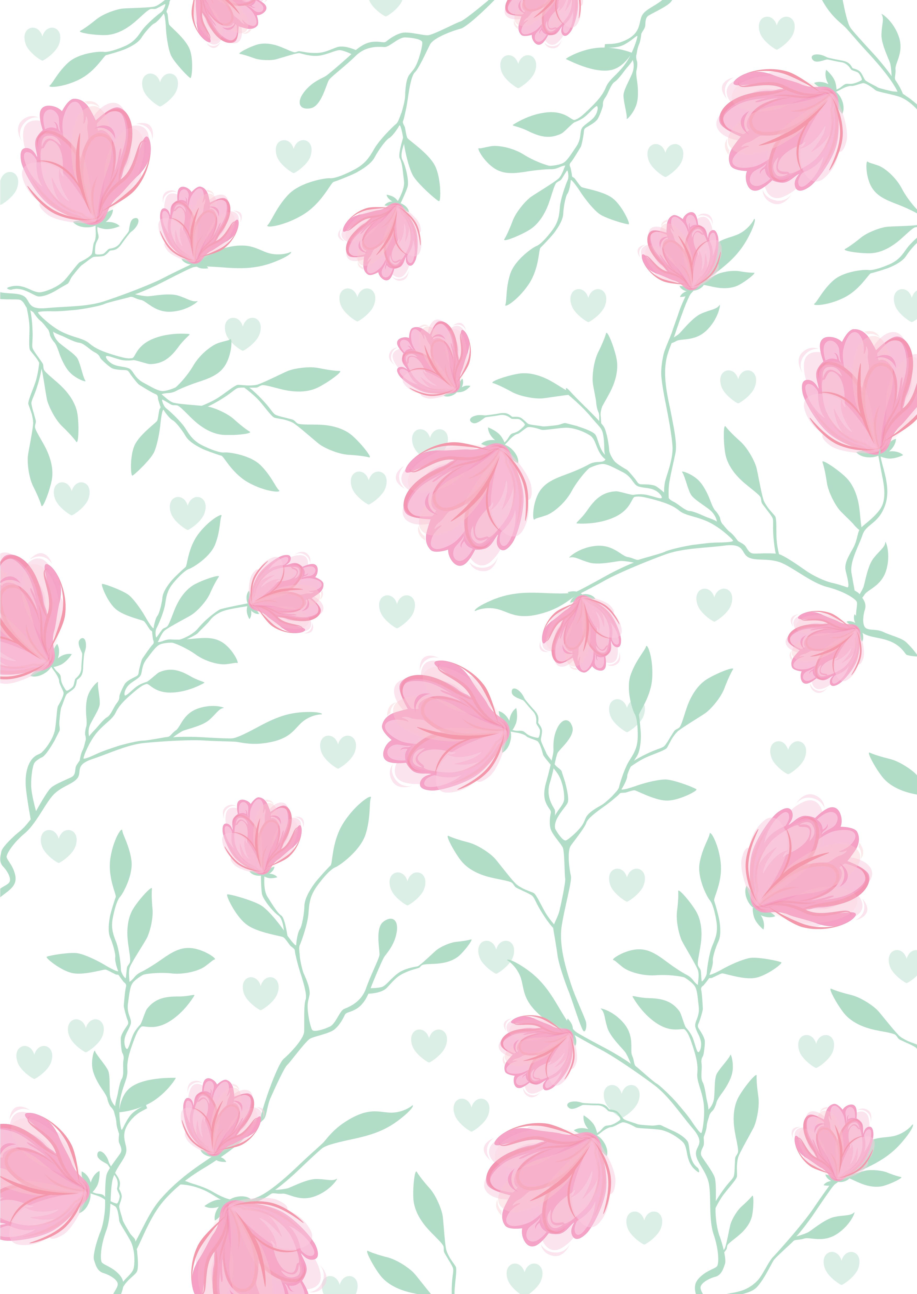 Floral pattern art/printable card/gift texture #nature #printable ...