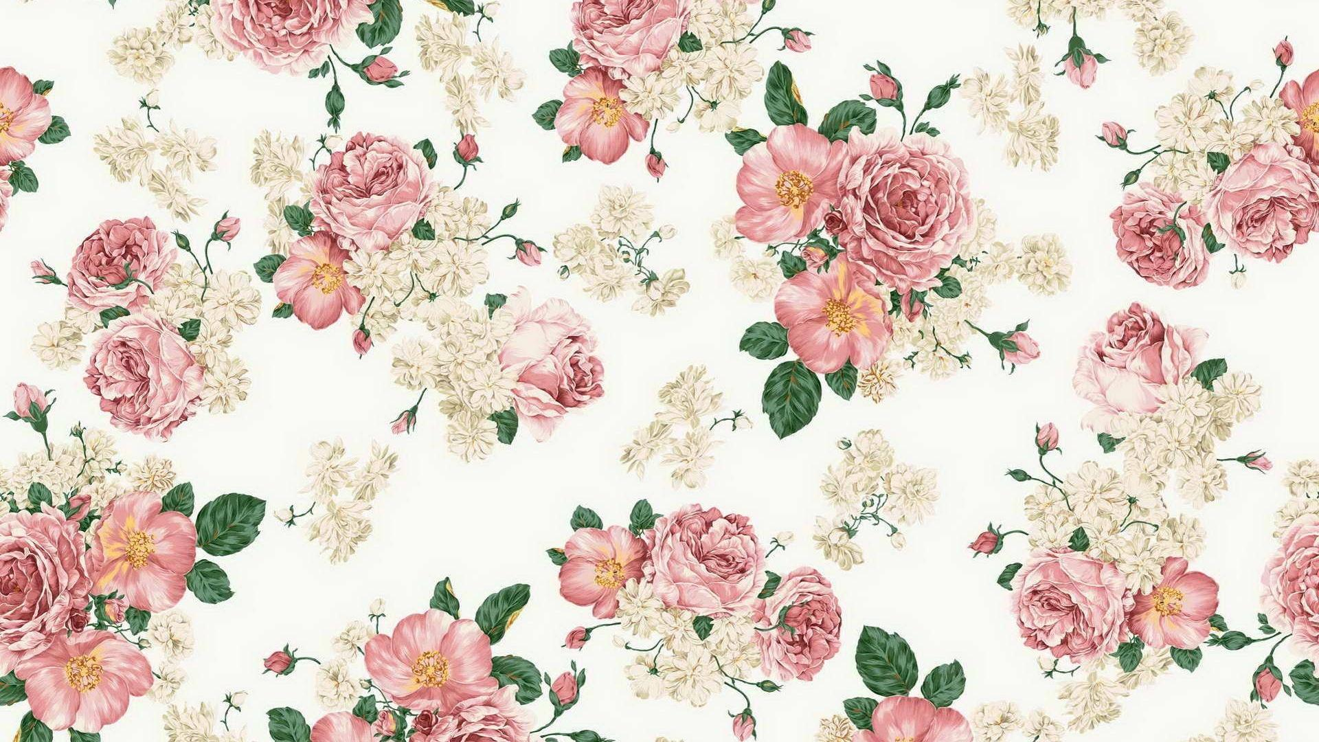 Floral texture flowers patterns roses wallpaper | (94506)