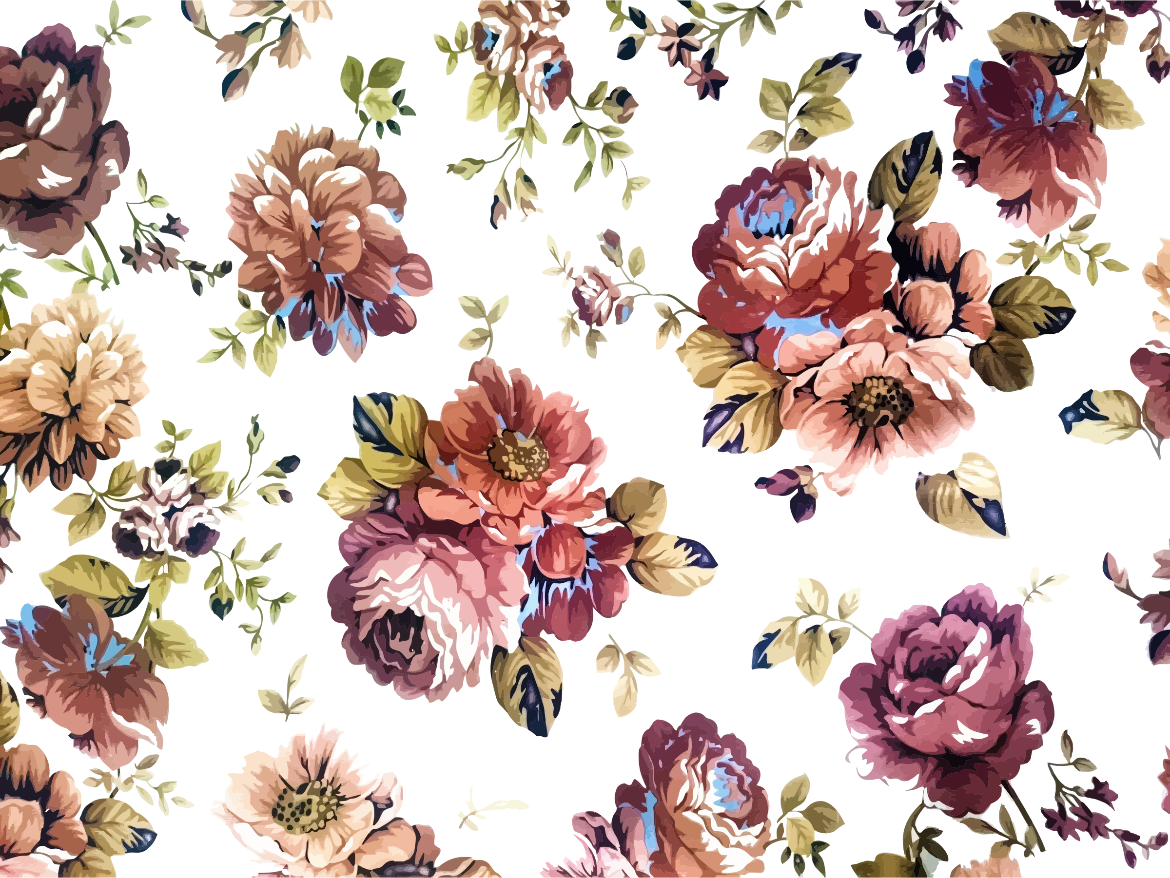 Vintage Floral Texture Background Icons PNG - Free PNG and Icons ...