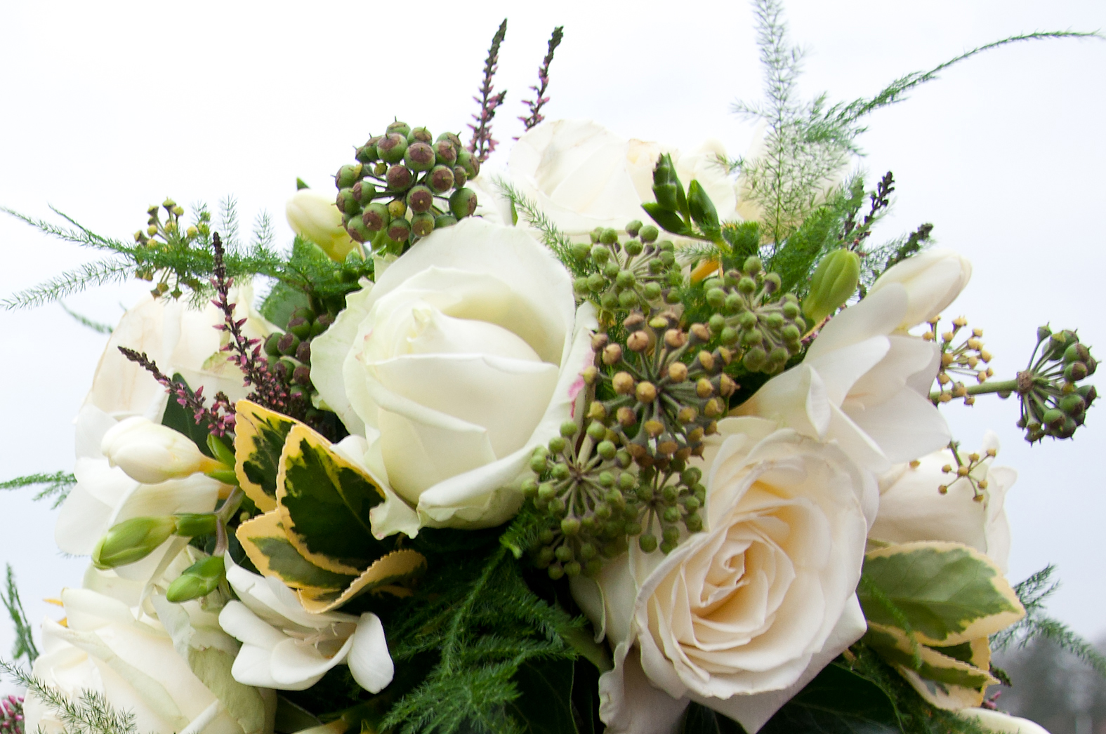 Free Photo Flower Bouquet Roses Rose Wedding Free Download