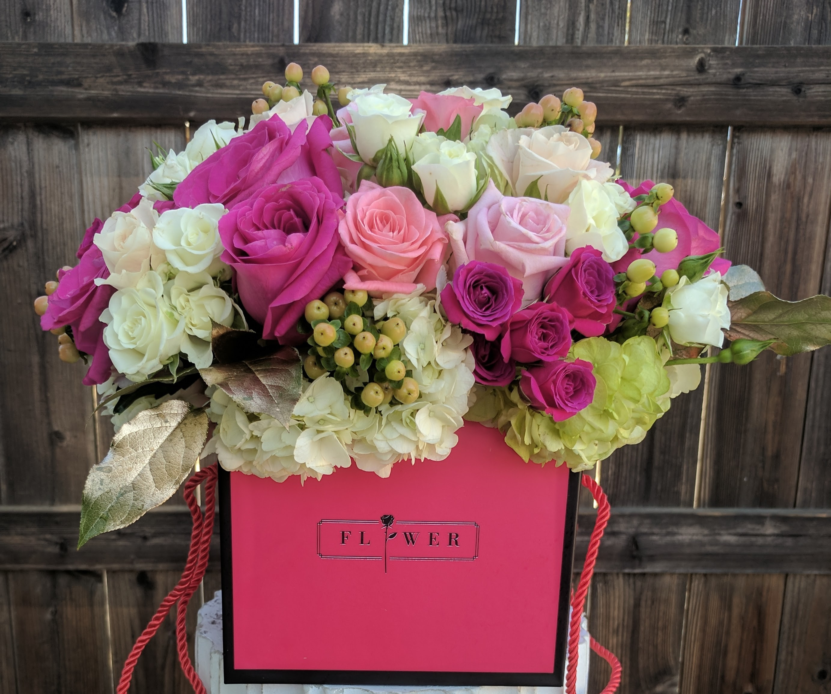 Fabulous Flower Box Let us pick the prettiest one for your special ...