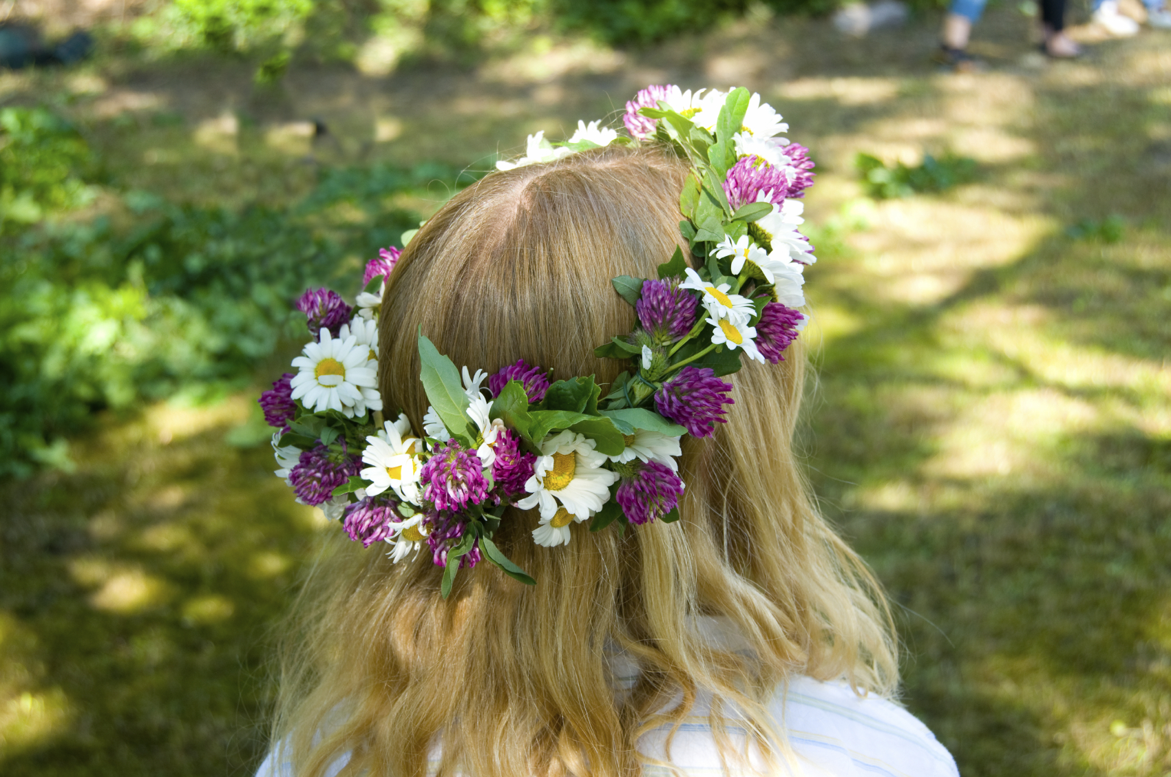 Free Photo Flower Crown Midsummer Summer Head Free Download