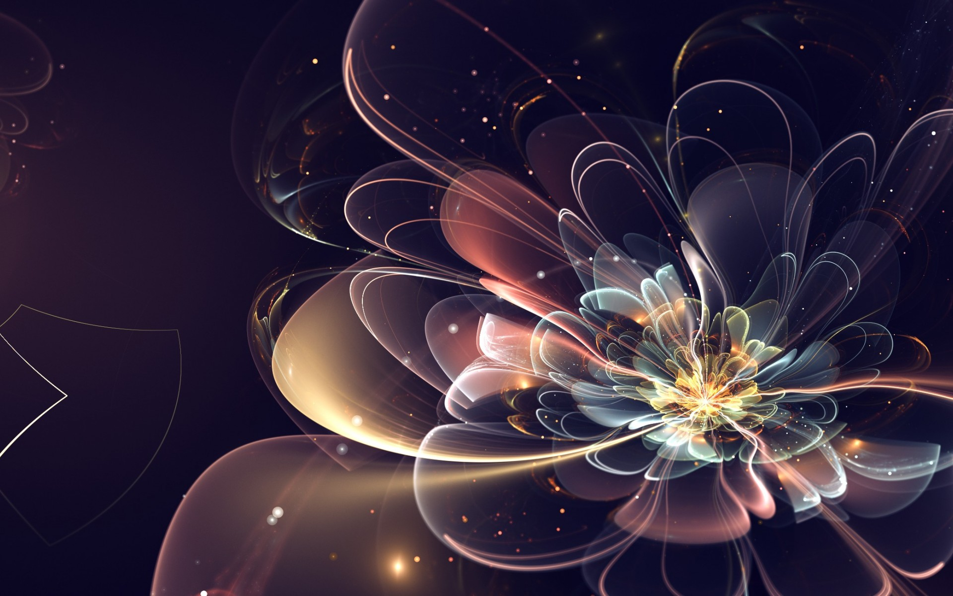 Download Wallpaper x d Abstract Fractal Bright New | wallpapers ...