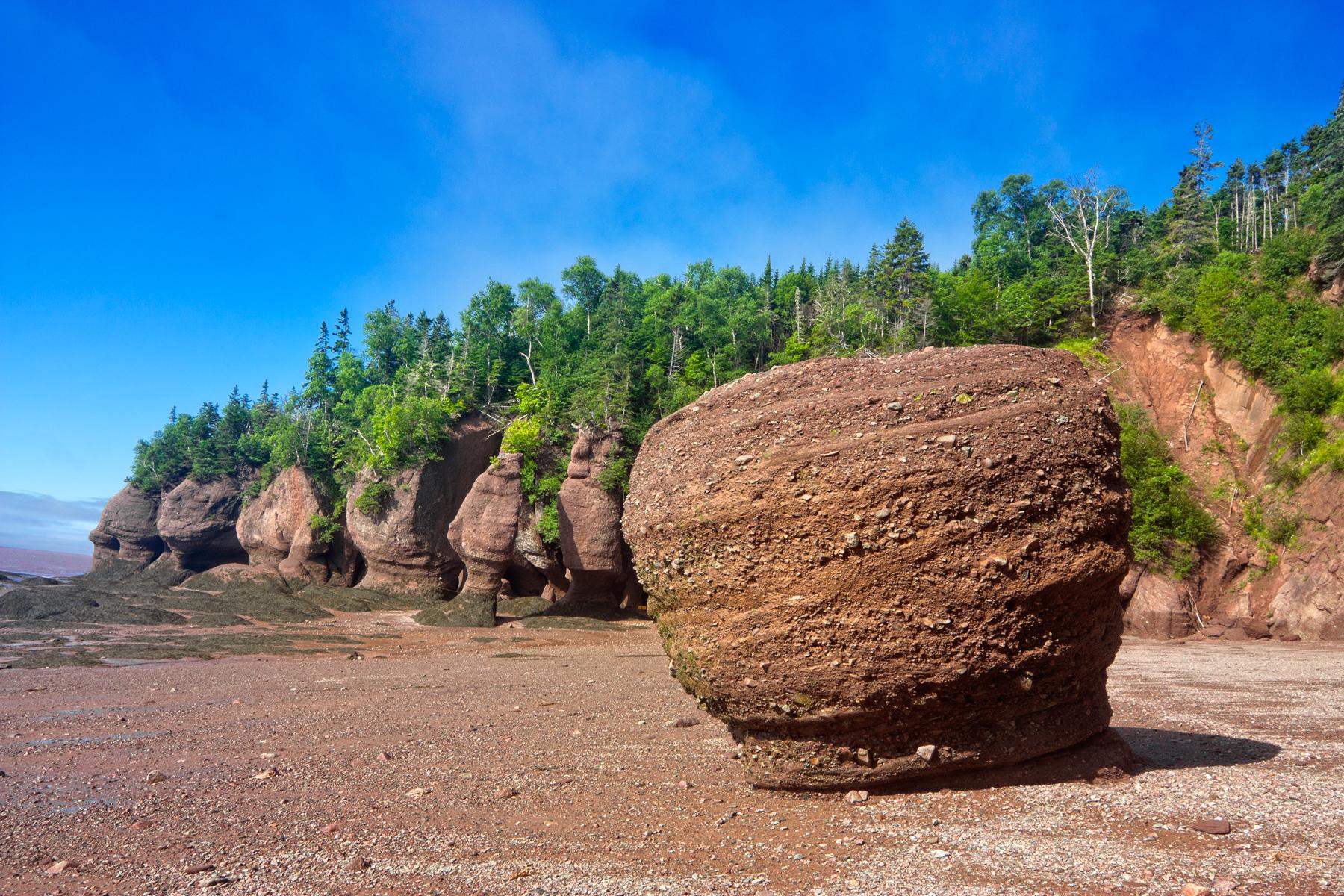 Flowerpot rocks - hdr photo