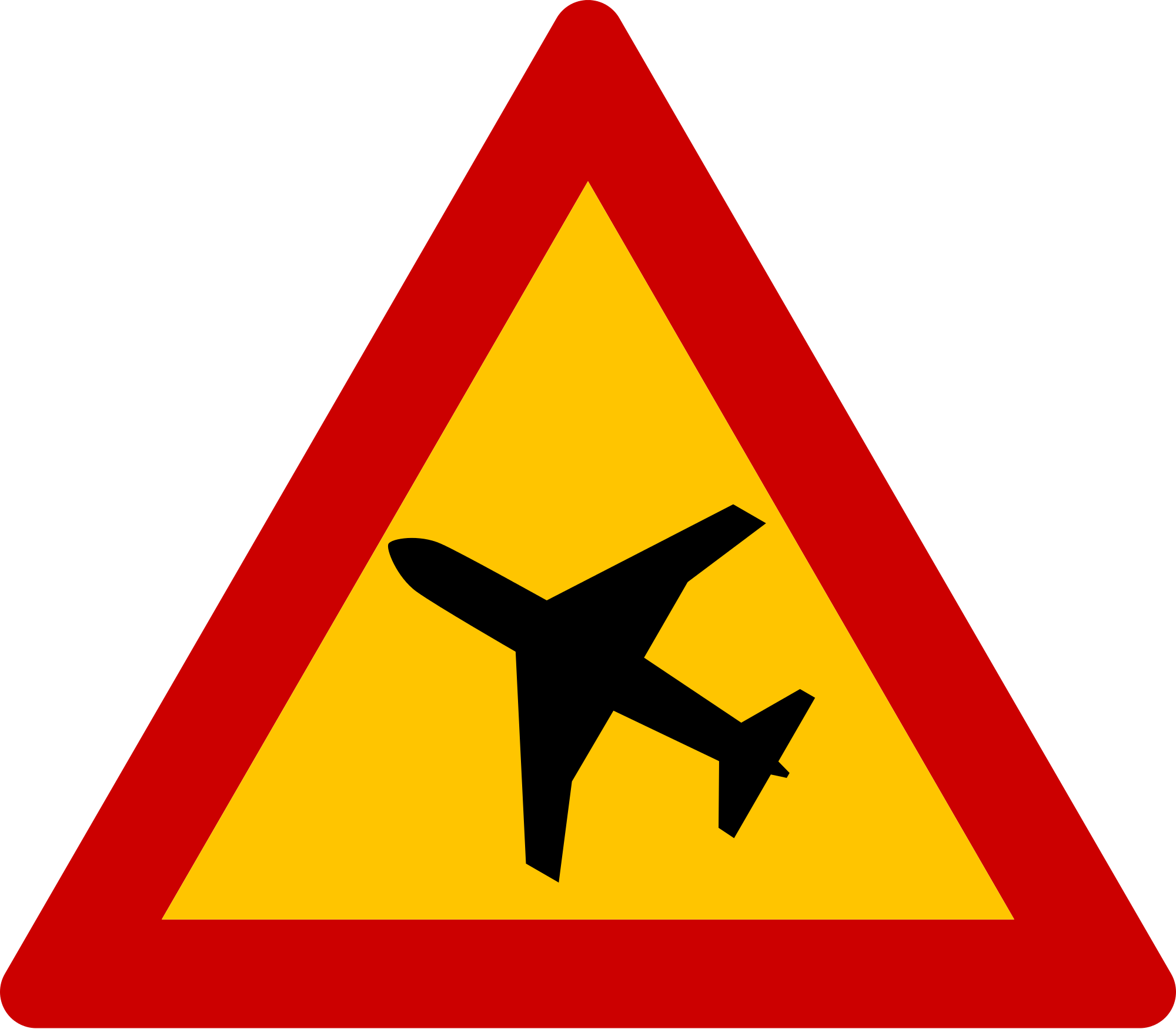 Flying sign photo