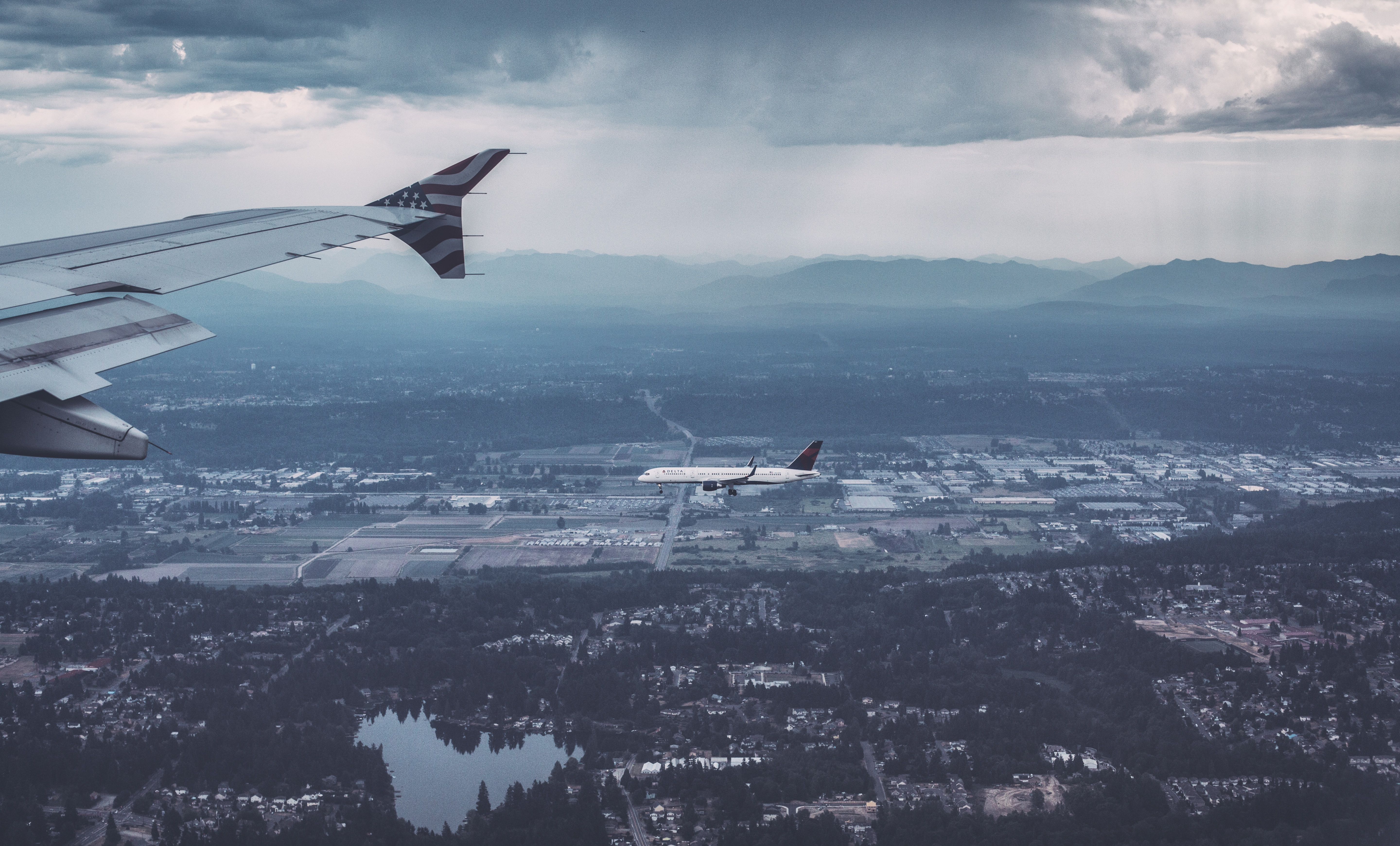 Flying the Distance, Airplane, Distance, Fly, Flying, HQ Photo