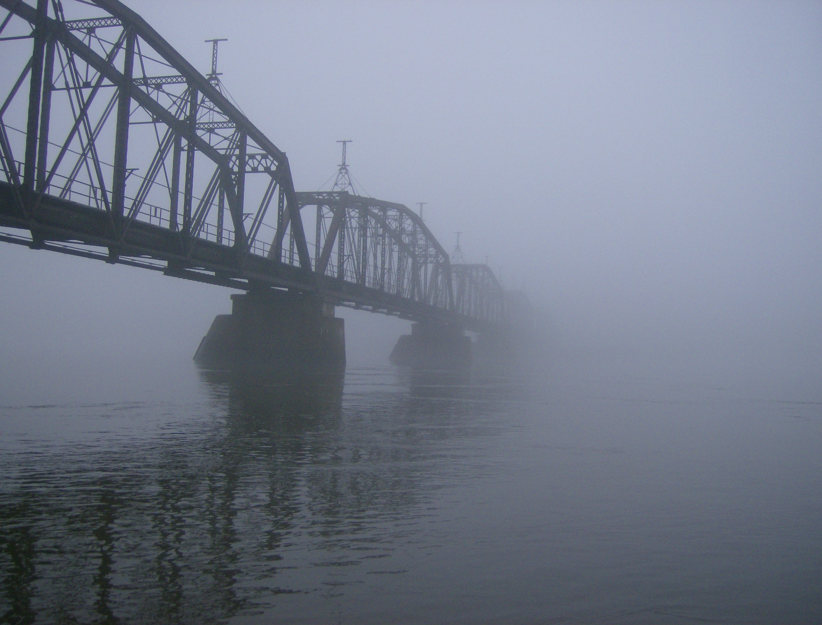 Foggy Bridge | photo page - everystockphoto
