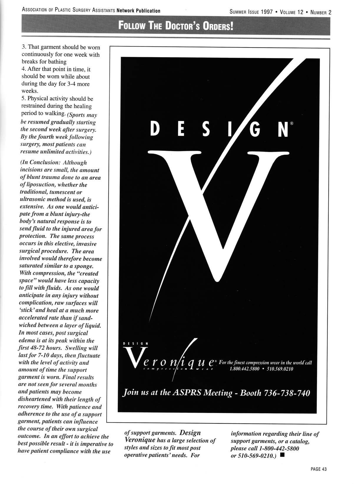 Follow The Doctor's Orders! cont. | Design Veronique